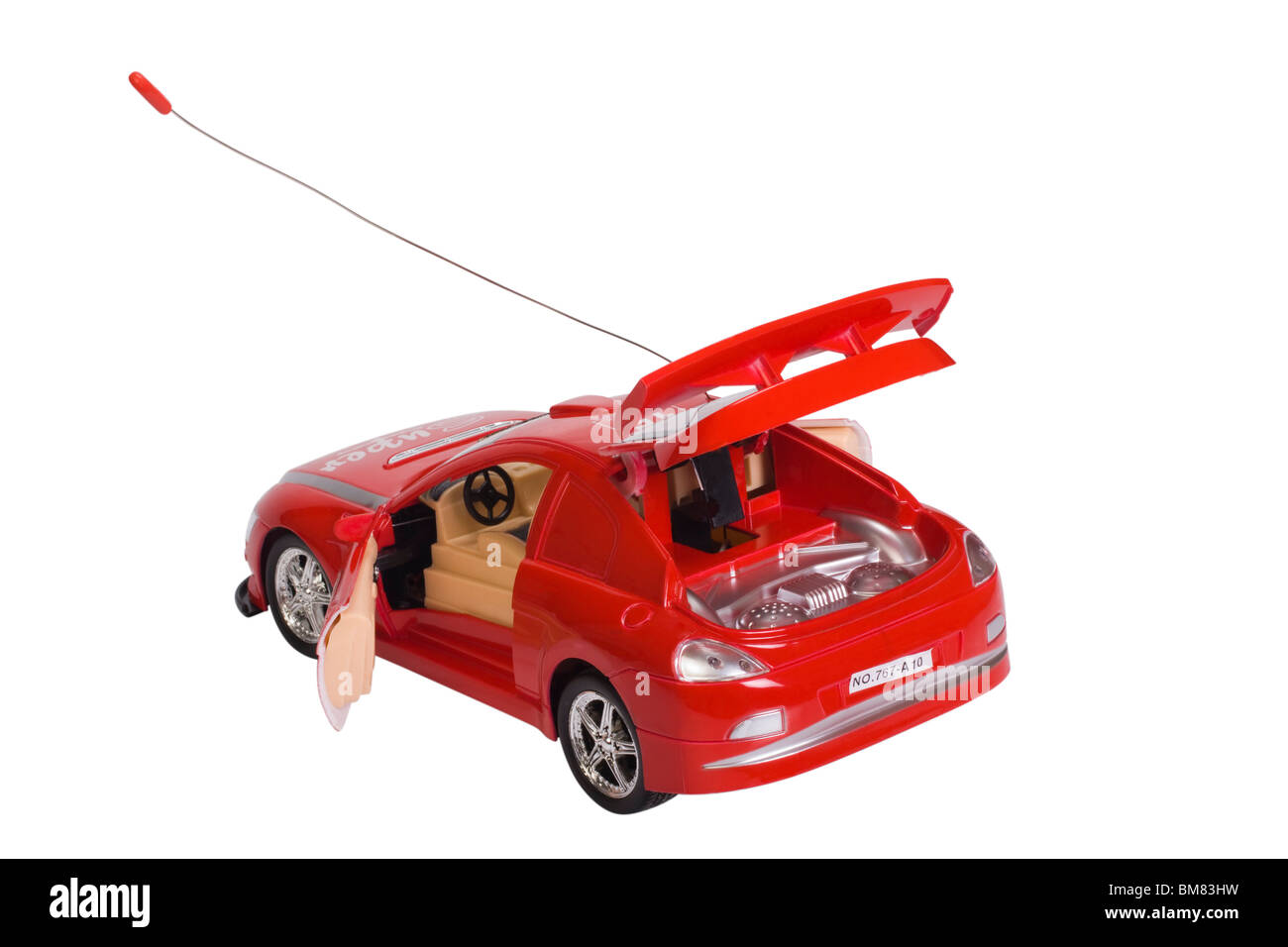 Close-up of a remote controlled toy car - Stock Image