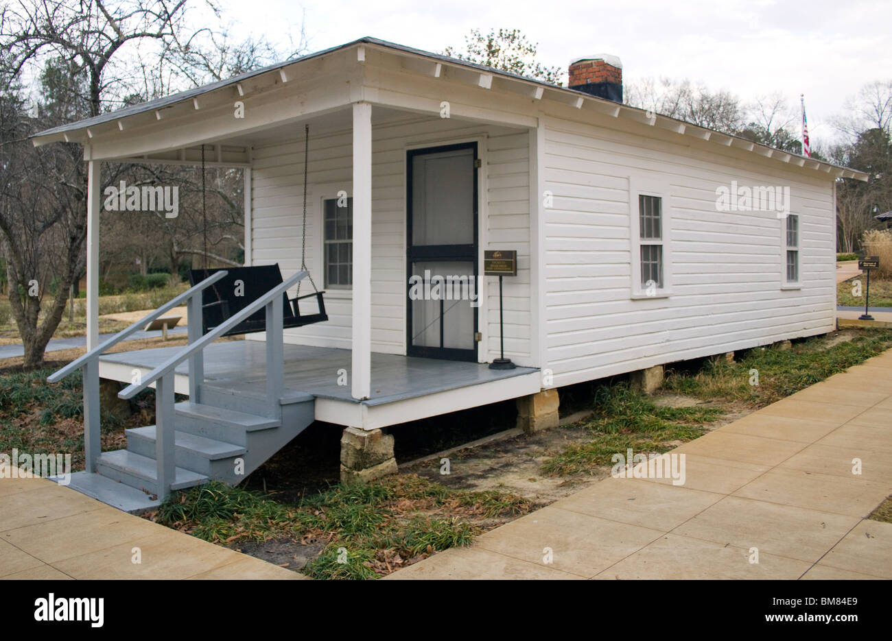 Elvis Presley Birthplace in Tupelo Mississippi - Stock Image