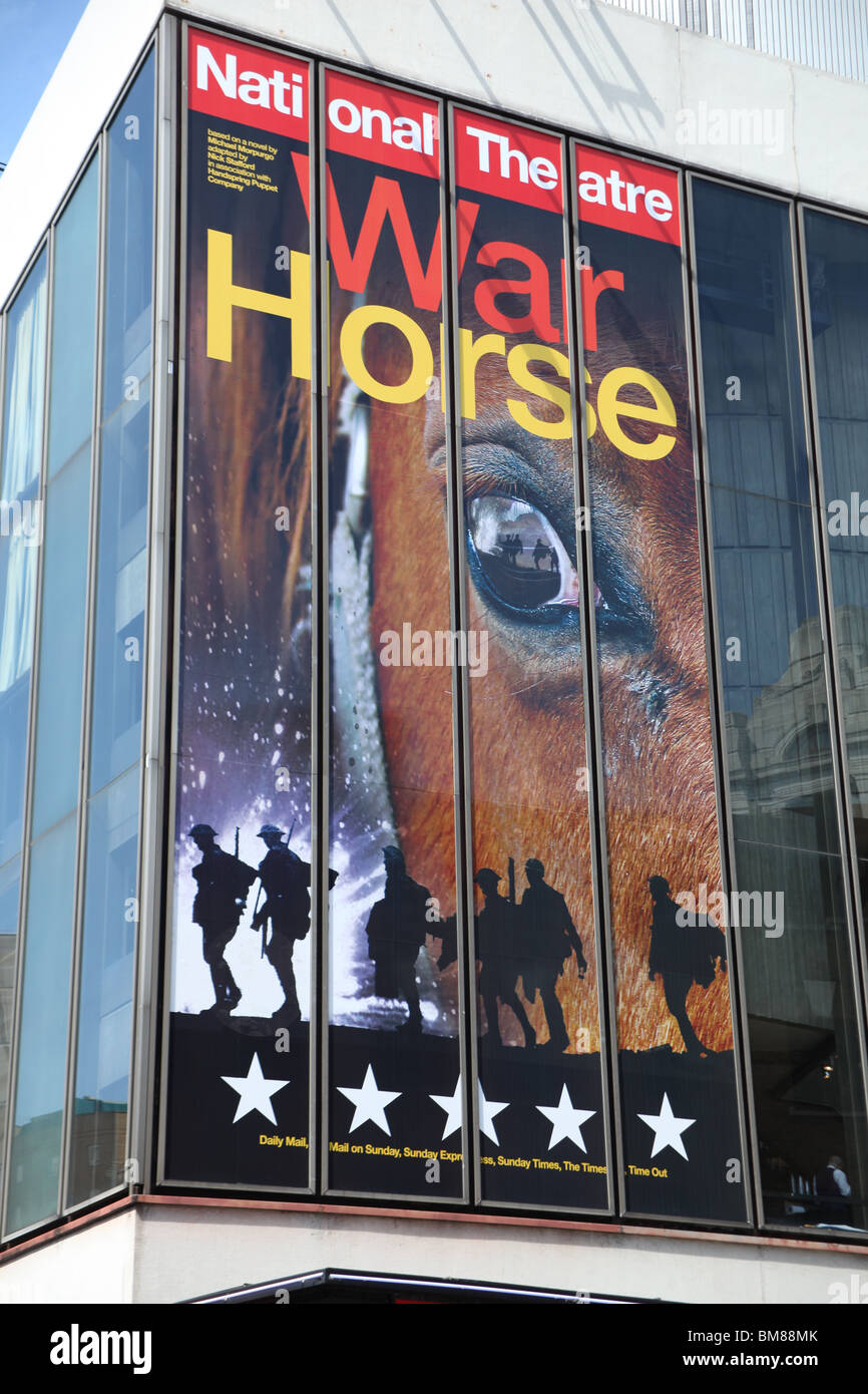 War Horse at the New London Theatre Stock Photo