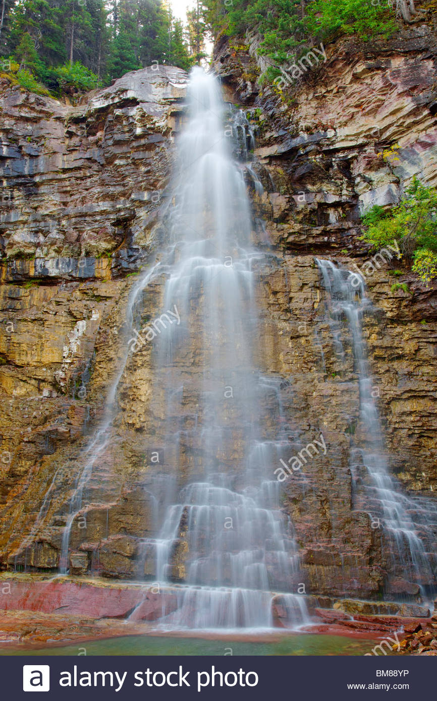 grand choix de 12f2a a5775 Virginia Falls, Glacier National Park, Montana, United ...
