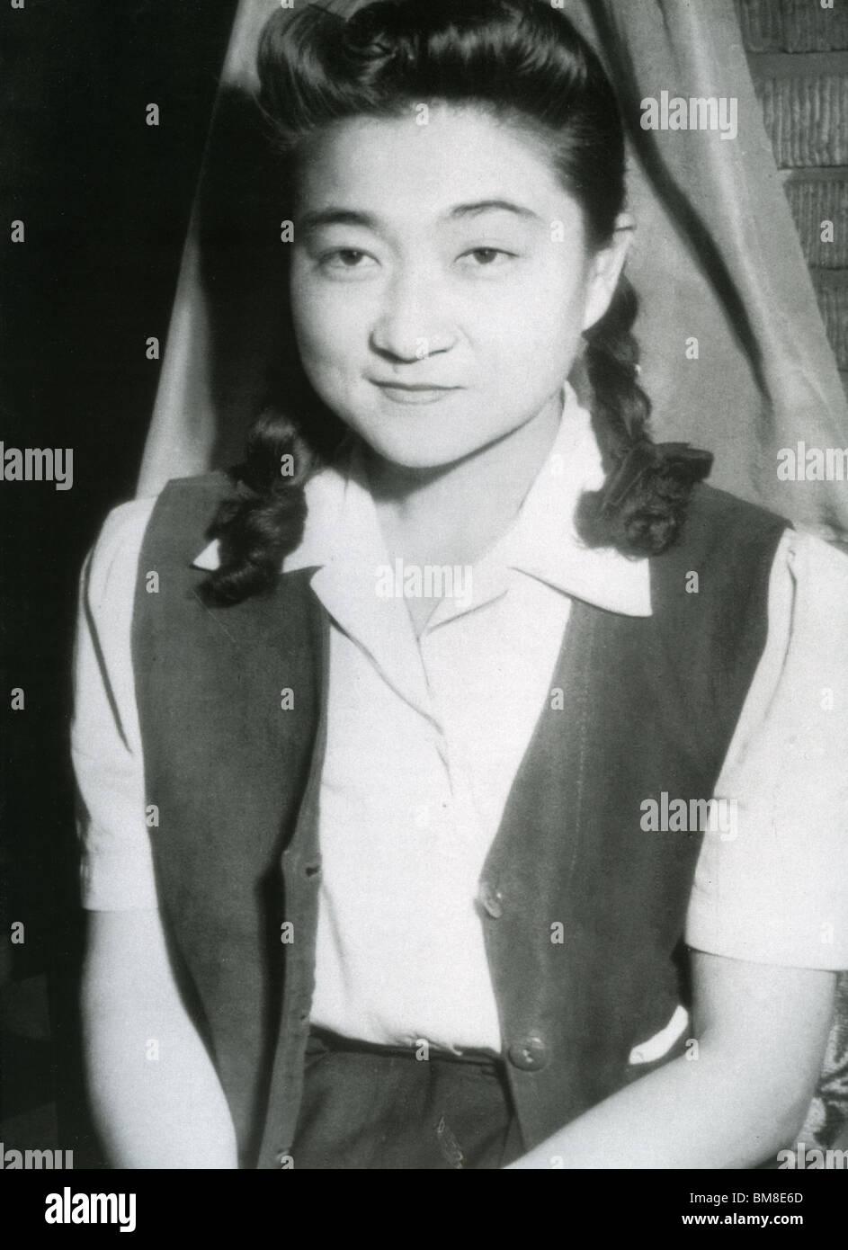 TOKYO ROSE - Iva Toguri was the most famous of several dozen English-speaking female broadcasters of Japanese propaganda - Stock Image