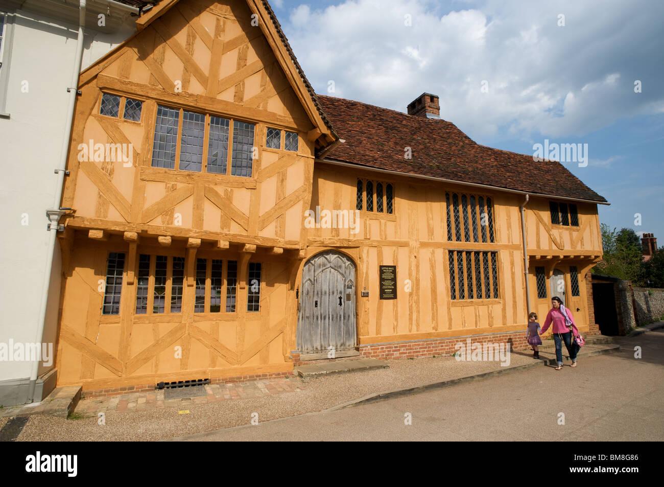 Little Hall, Lavenham, Suffolk, England. - Stock Image