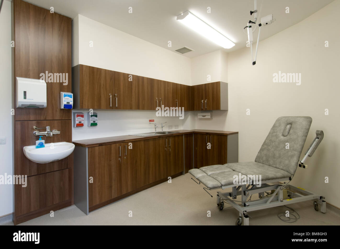 Doctors consulting room. - Stock Image