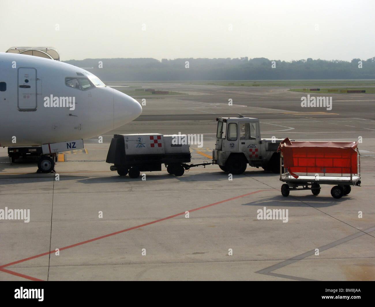 Italy, Milan Milano Malpensa Airport (MXP) - Stock Image