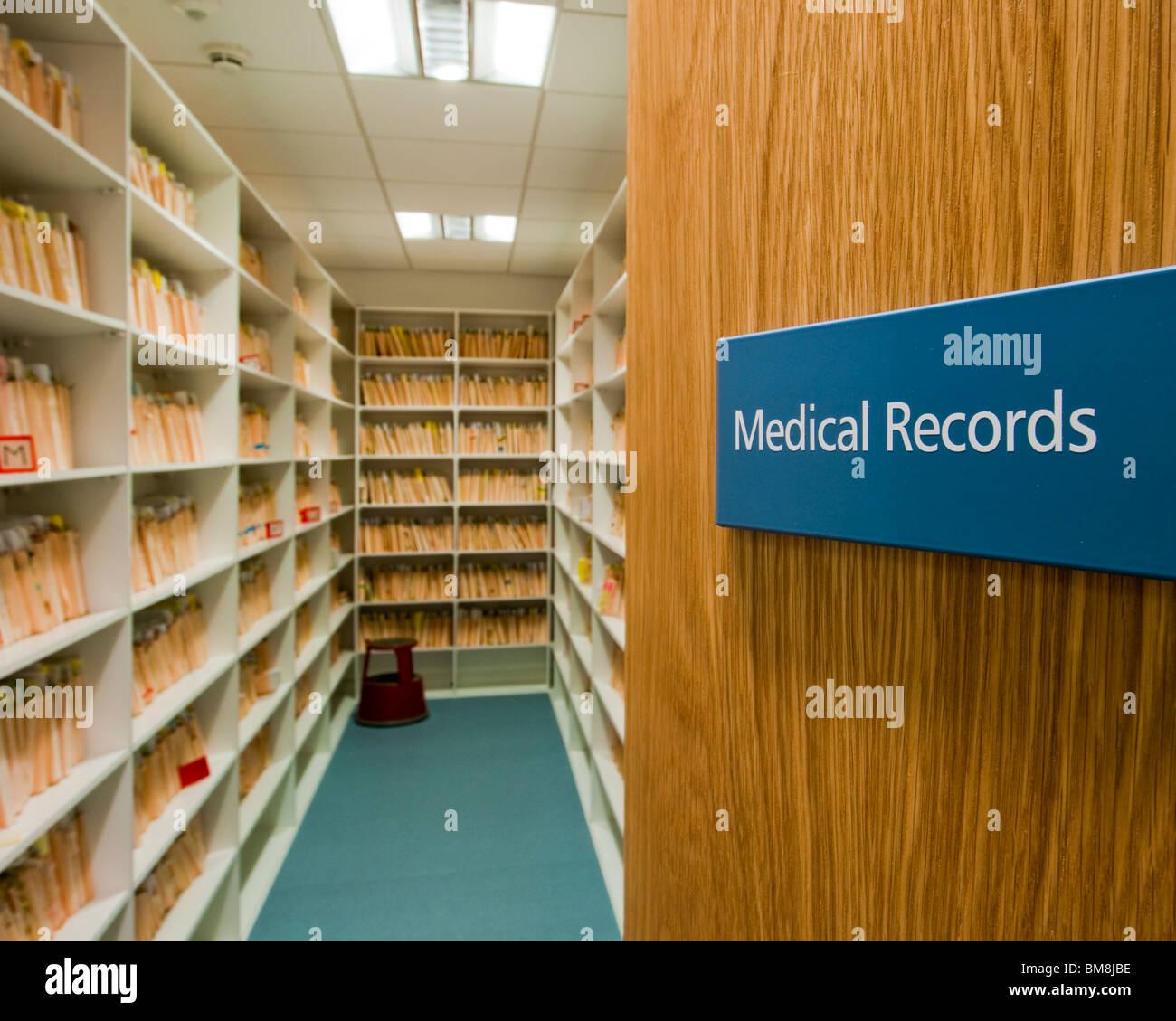 medical records storage room stock photo 29693538 alamy