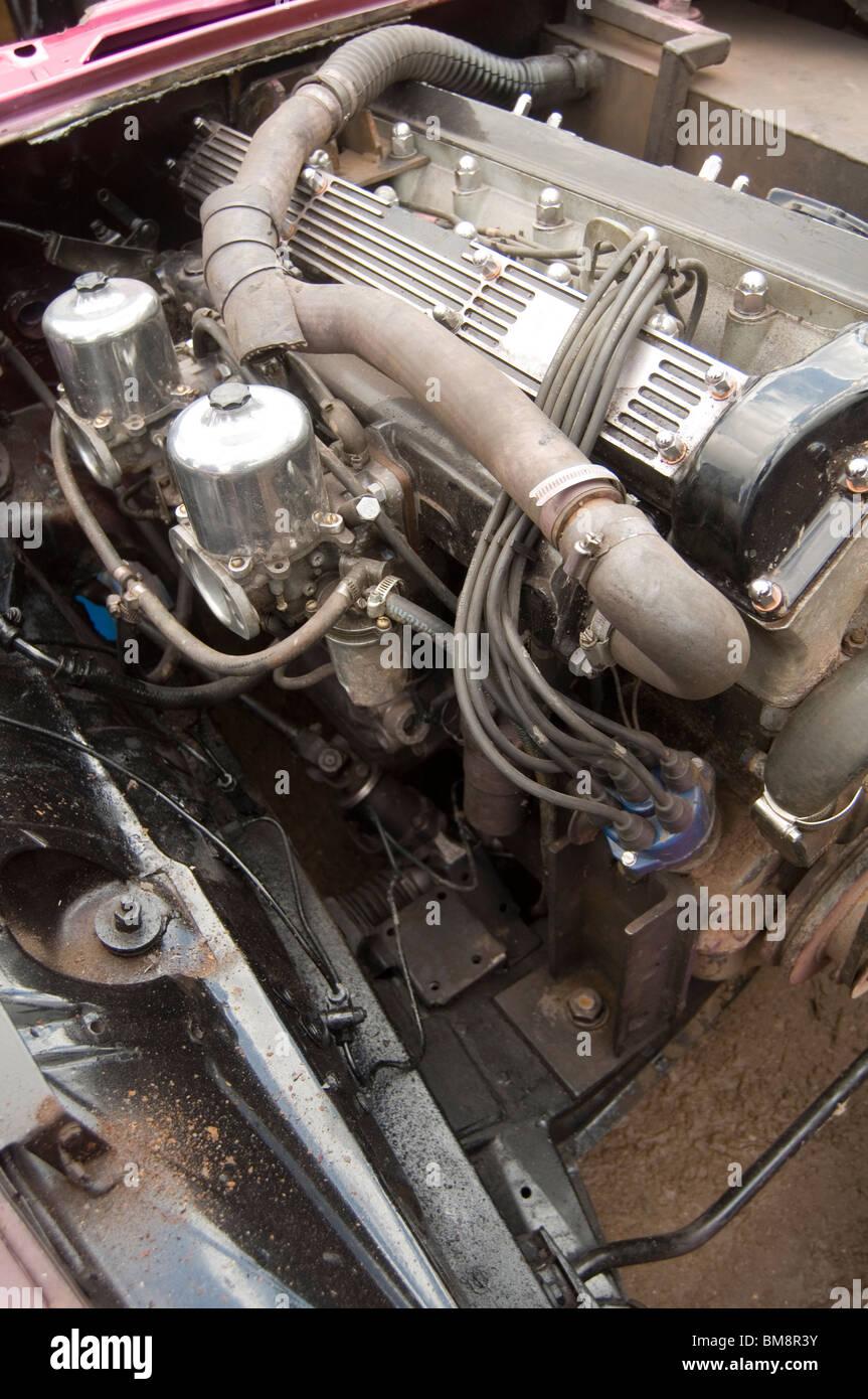 jaguar straight six 6 petrol engine 4 2 litre carb carbs carburetors
