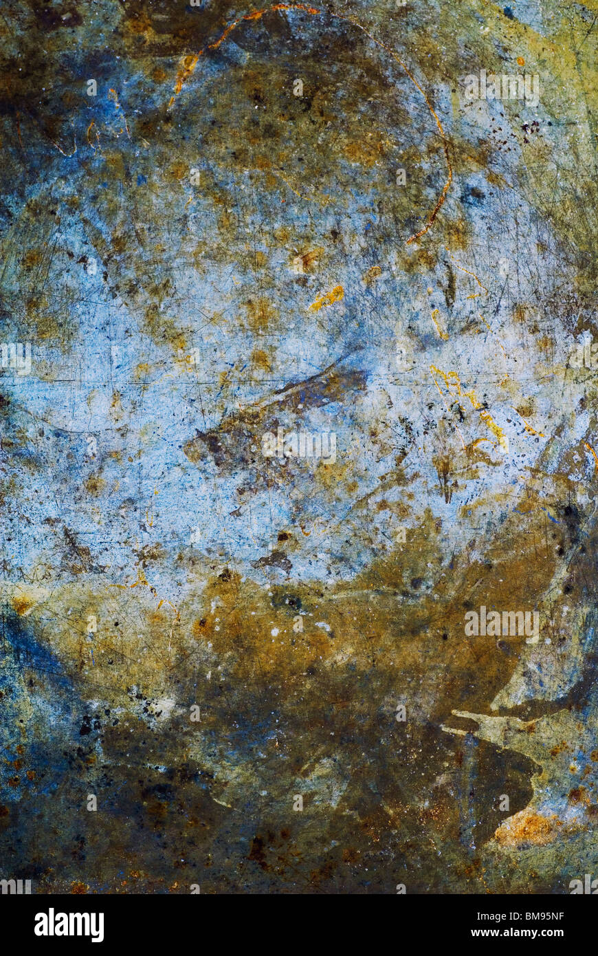 Grungy metal texture - Stock Image