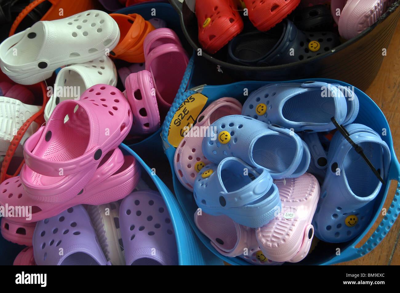 Crocs For Sale High Resolution Stock
