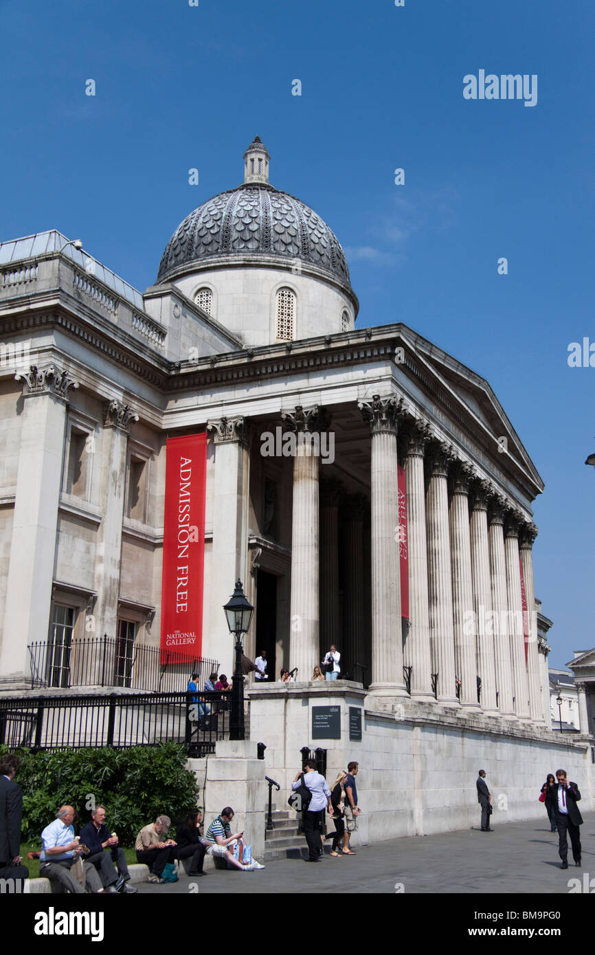 The National Gallery , London , England Stock Photo