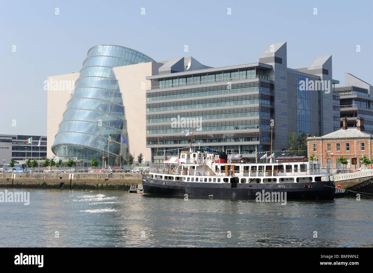 Docklands. Dublin City. Ireland - Stock Image