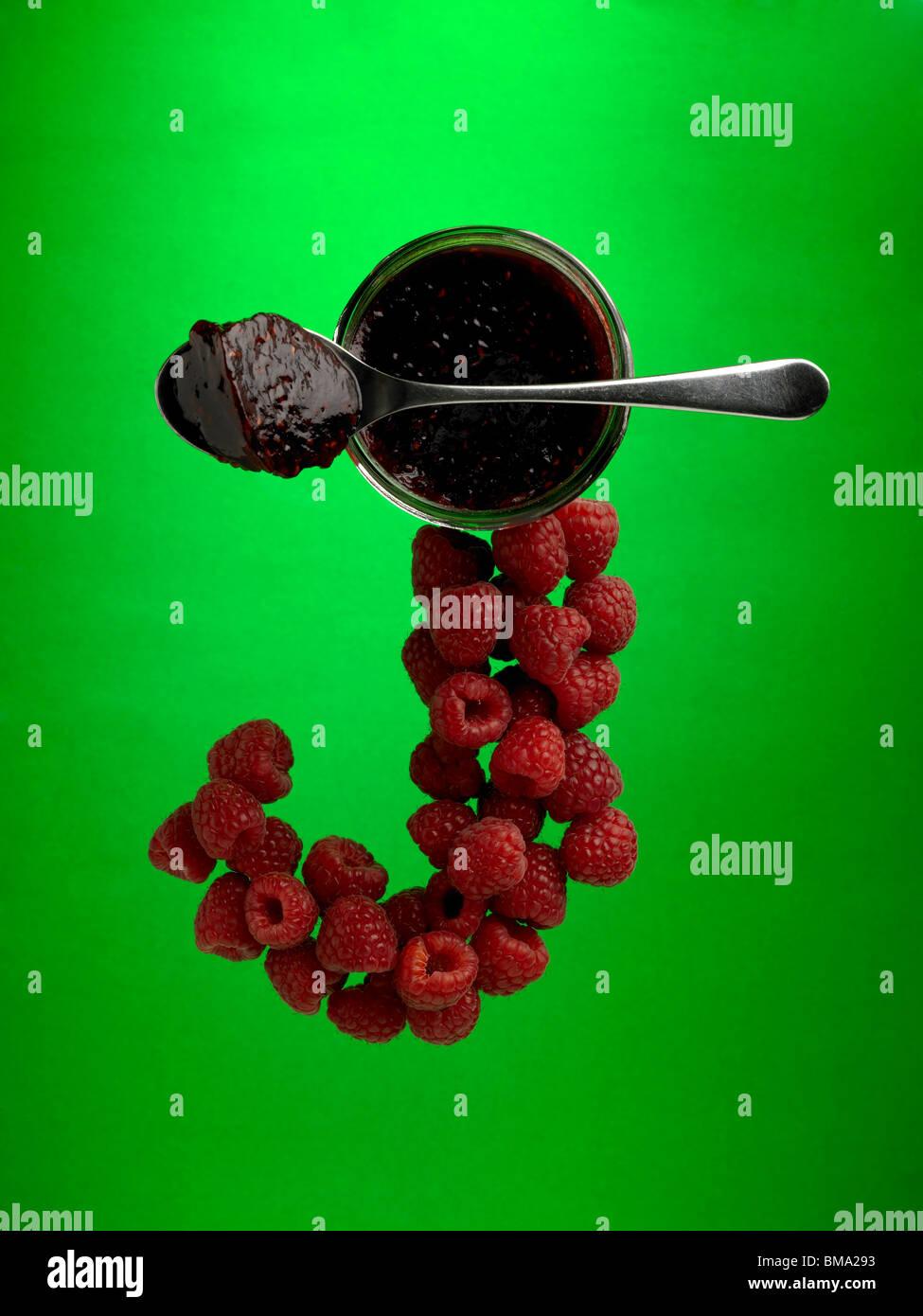 food letter J - Stock Image