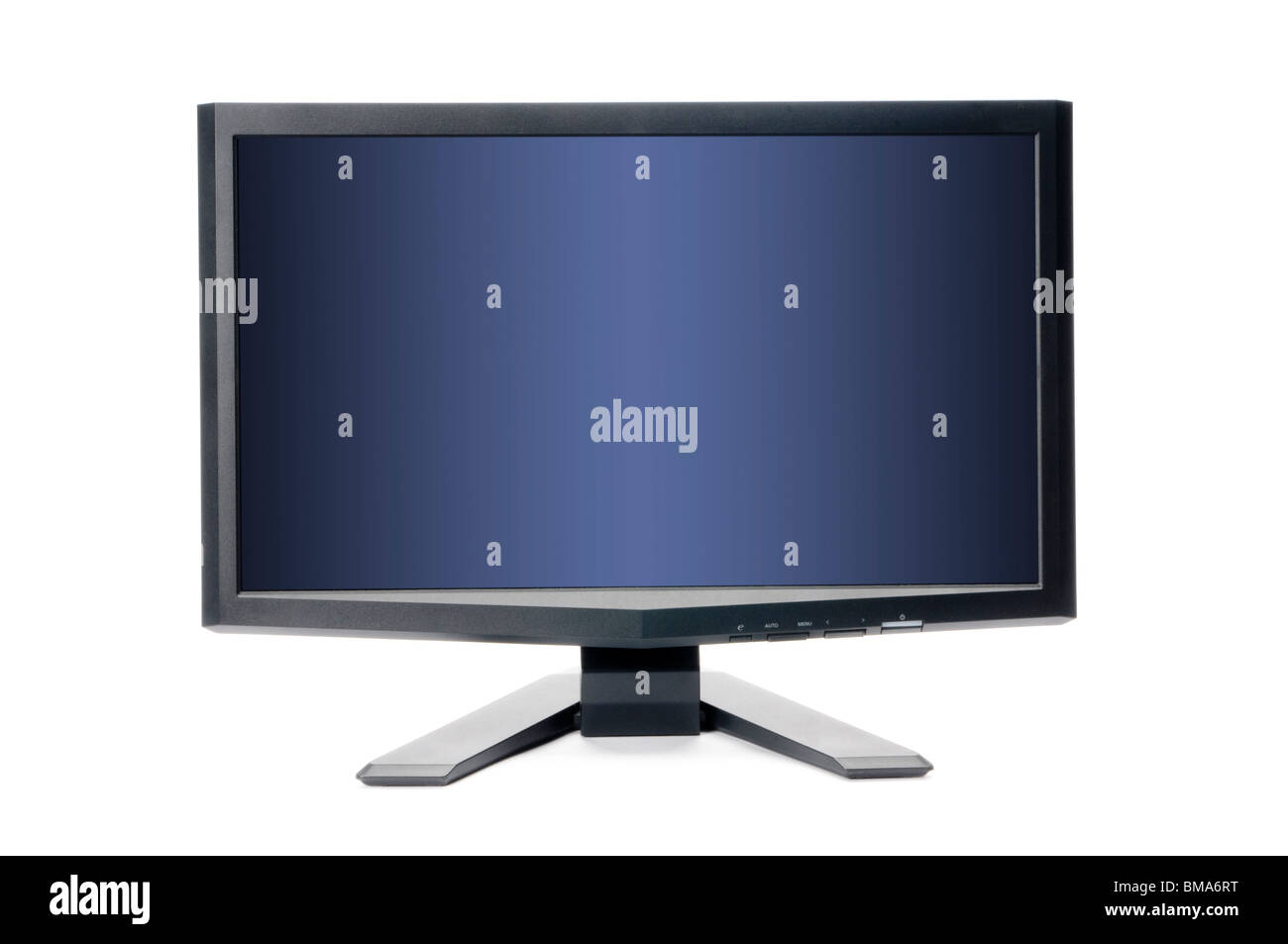 blank high definition computer monitor - Stock Image