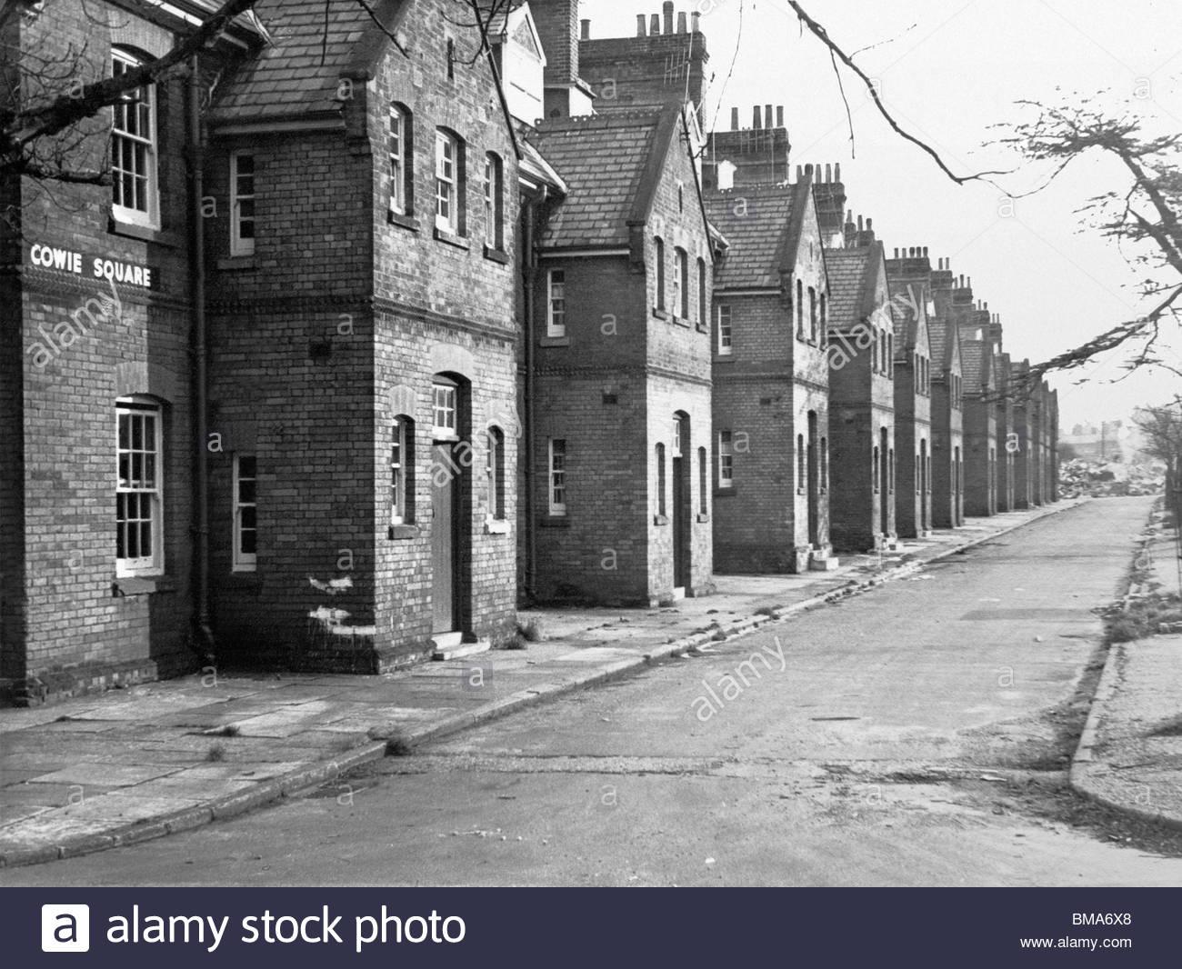 cowie square aldershot england uk victorian brick built army