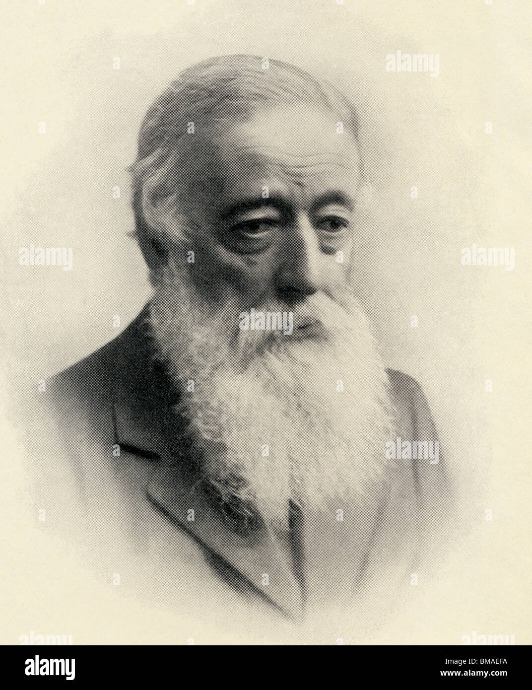 Charles Montagu Doughty, 1843 to 1926. English poet, writer, and traveller. - Stock Image
