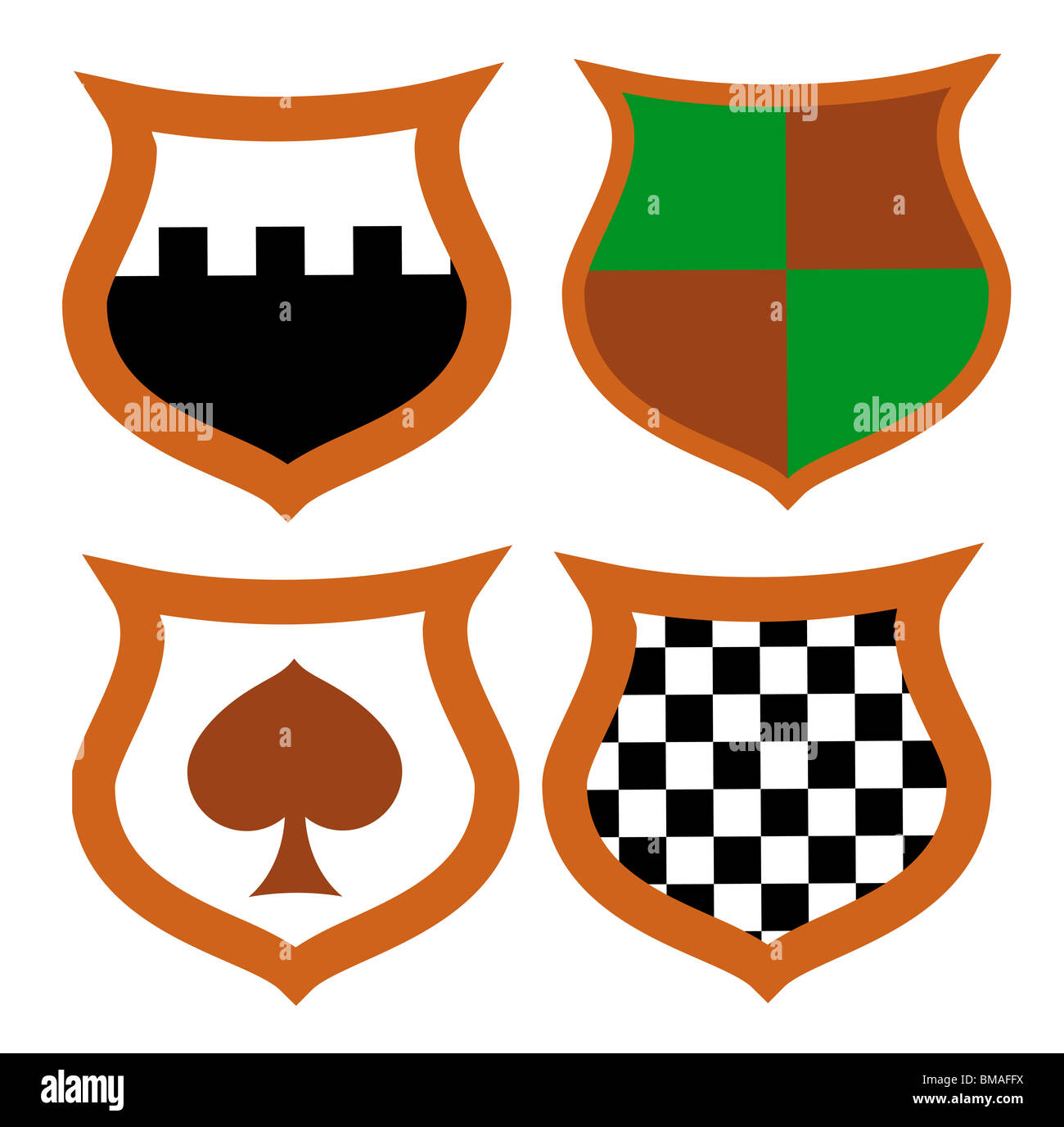 Medieval Shields Stock Photos Medieval Shields Stock Images Alamy