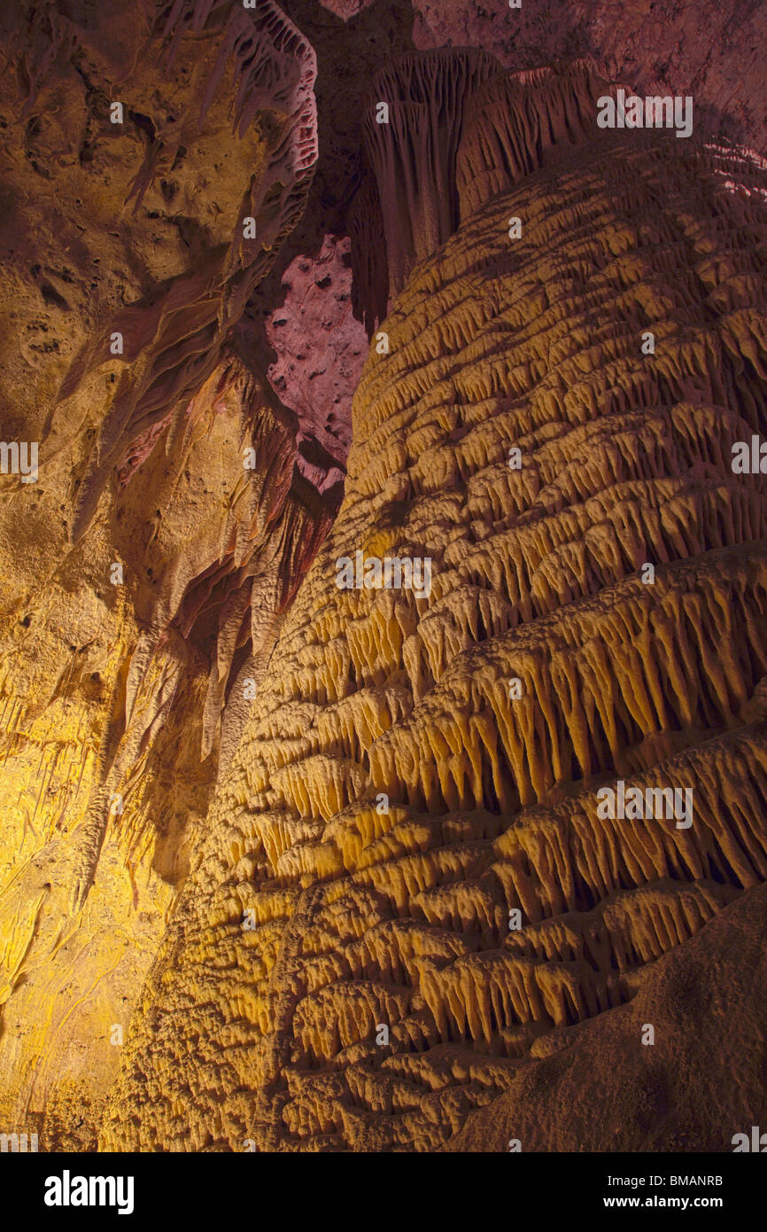 Rock of Ages, Carlsbad Caverns National Park, New Mexico - Stock Image