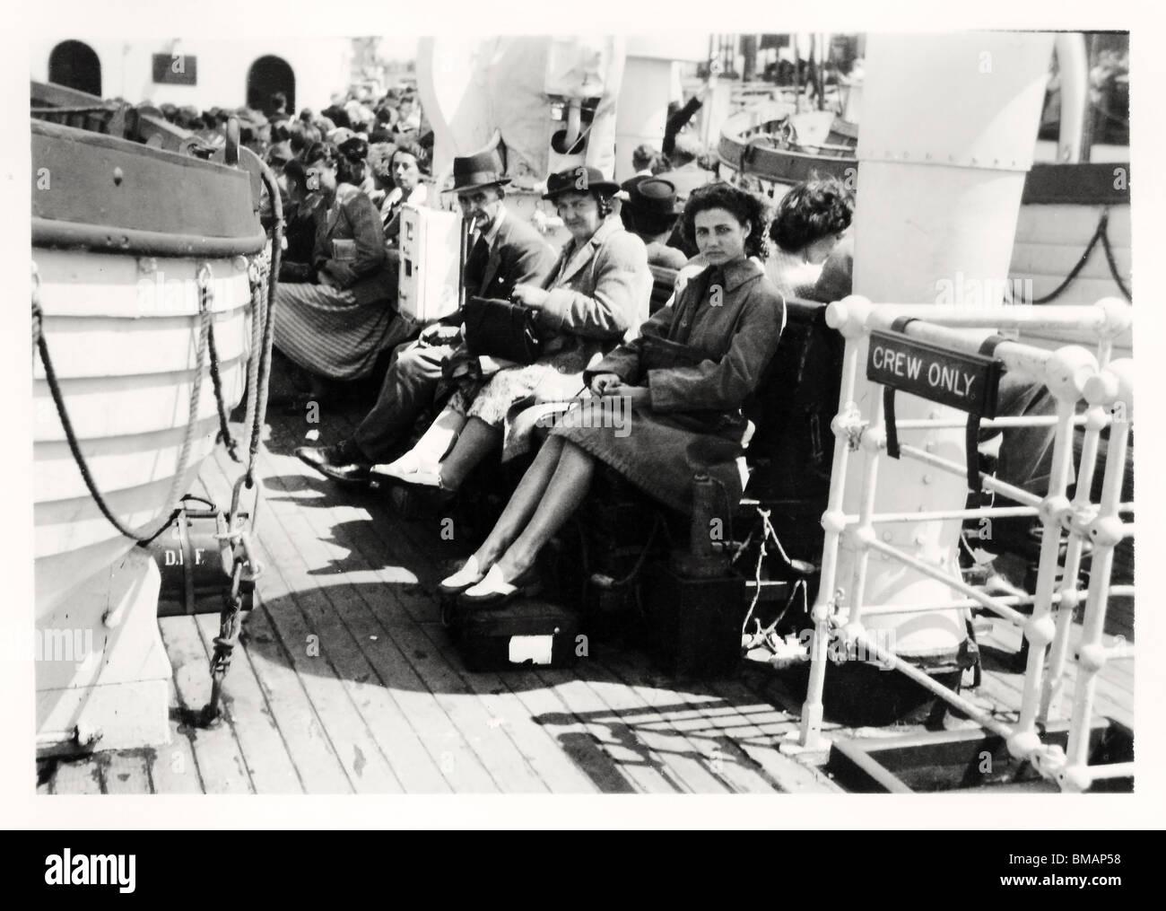 Archive Photo: Cruising (c1945) - Stock Image