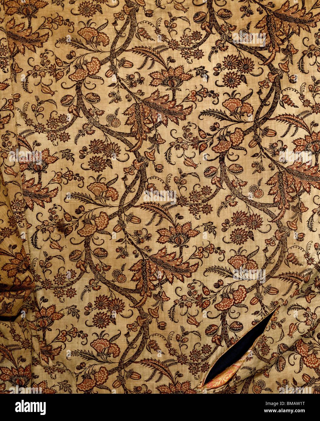 Banyan. England, 18th century - Stock Image