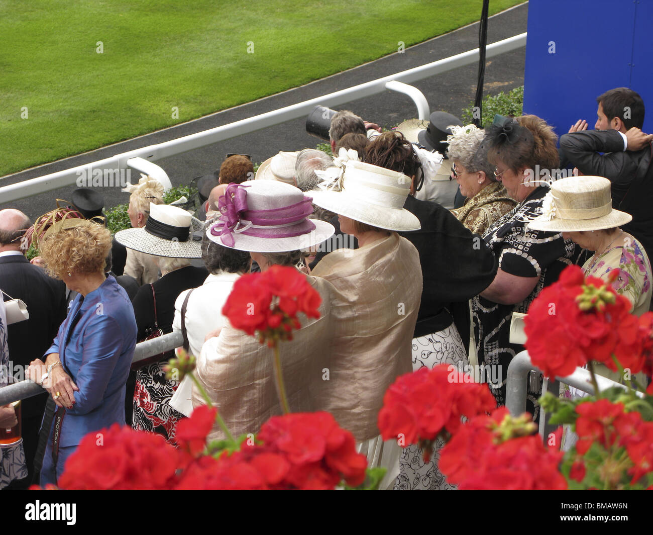 Royal Ascot pagent ceremony,part of the season in the uk - Stock Image