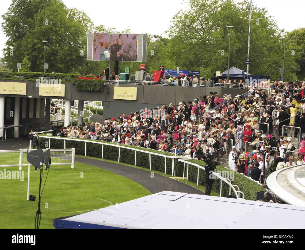 Royal Ascot pageant ceremony,part of the season in the uk - Stock Image