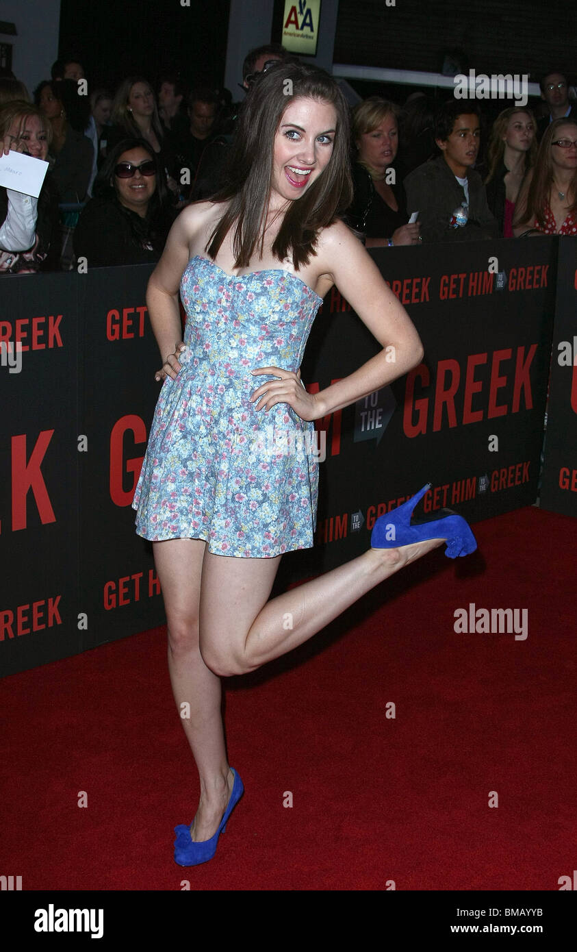 alison brie get him to the greek world premiere los angeles ca 25 may stock photo 29744943 alamy. Black Bedroom Furniture Sets. Home Design Ideas