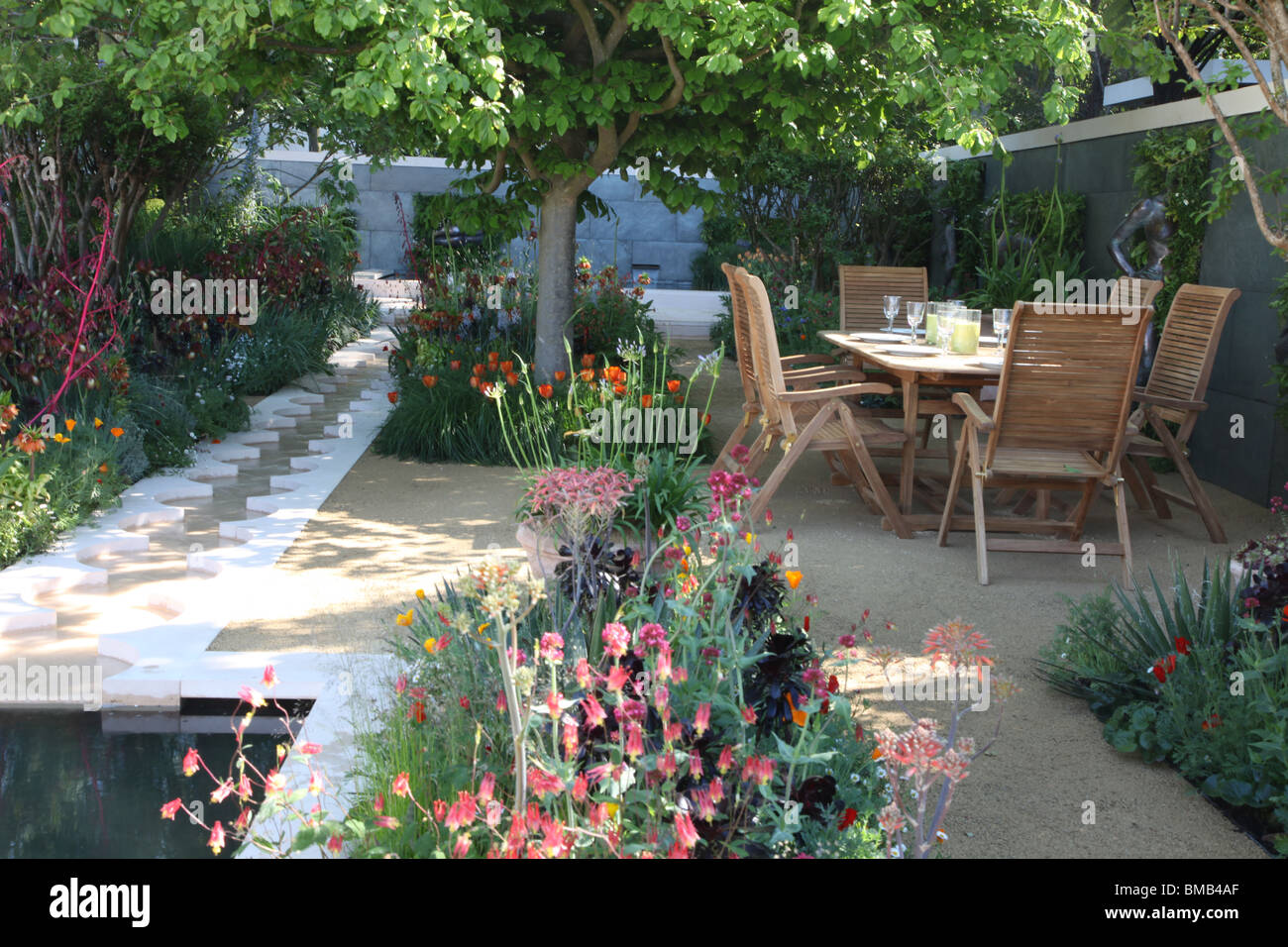 Foreign & Colonial Investments Garden; Chelsea Flower Show 2010 - Stock Image