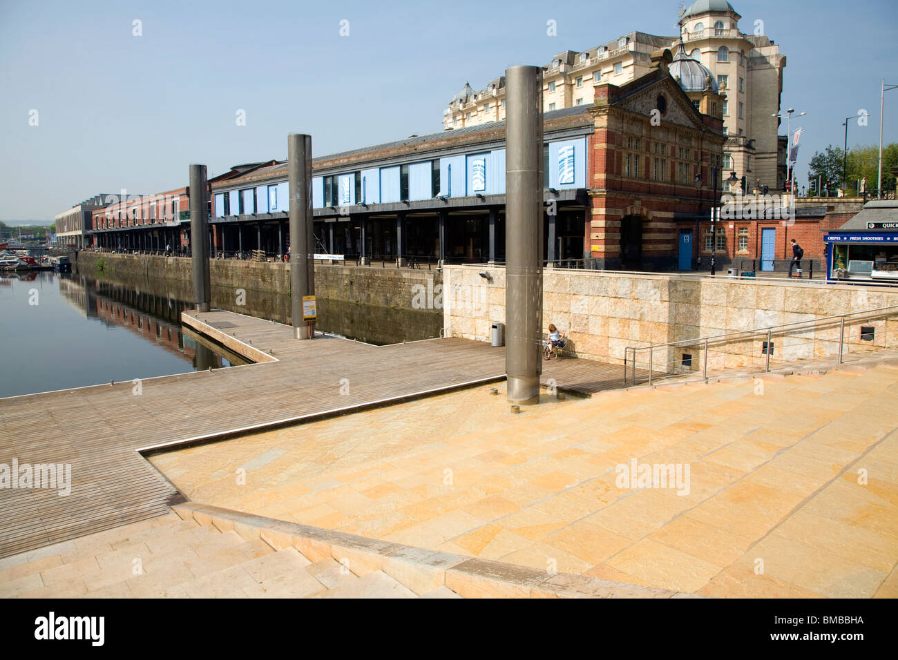 Watershed media centre, St Augustine's Reach, Bristol - Stock Image