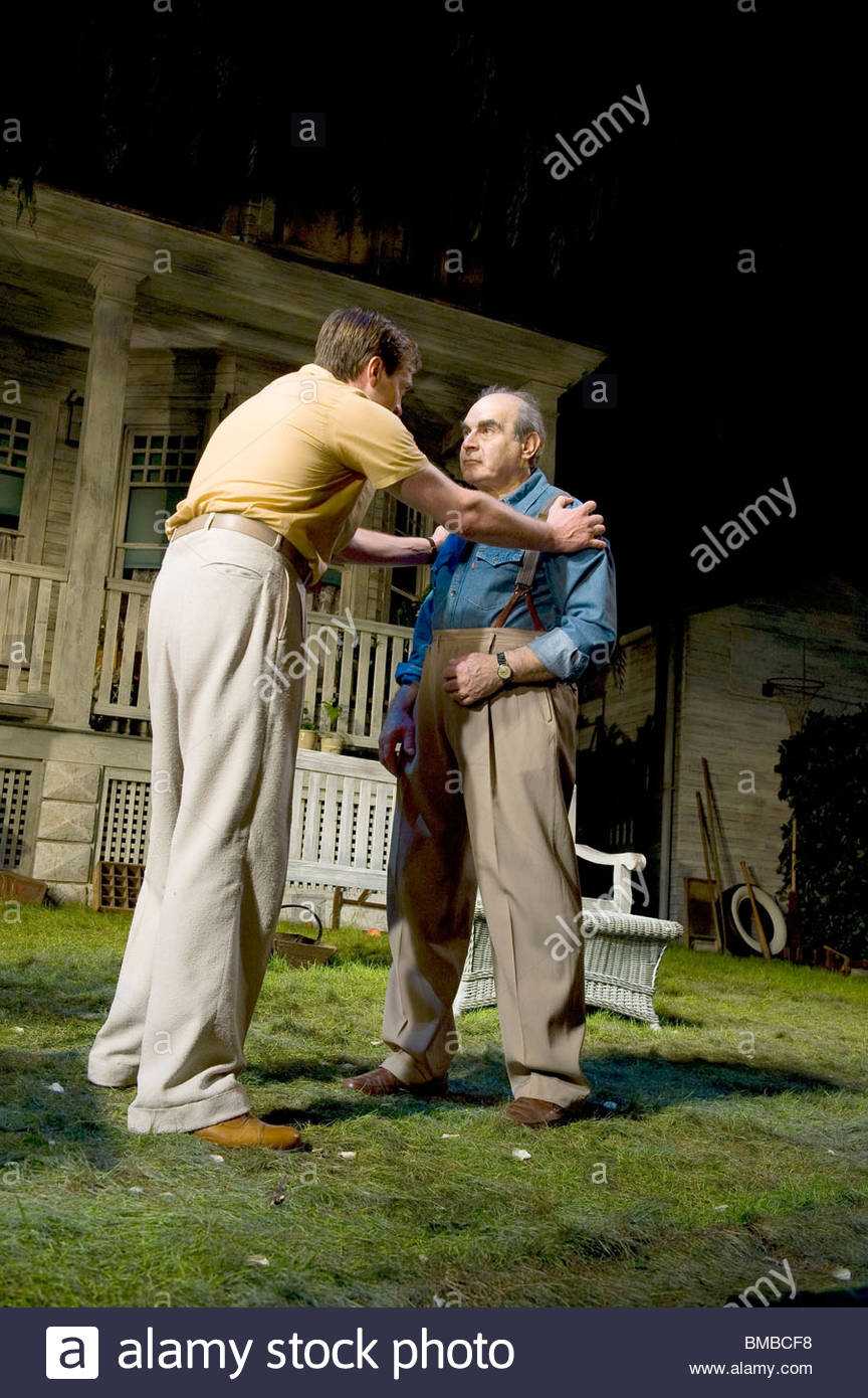 All My Sons by Arthur Miller,directed by Howard Davies.With  David Suchet as Joe Keller - Stock Image