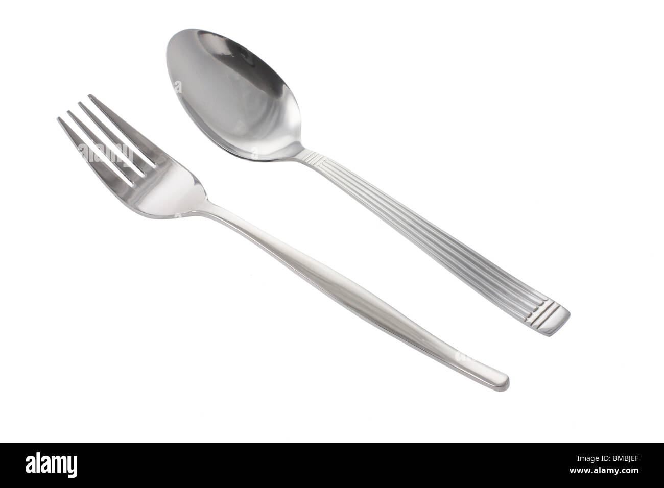 Fork and Spoon - Stock Image