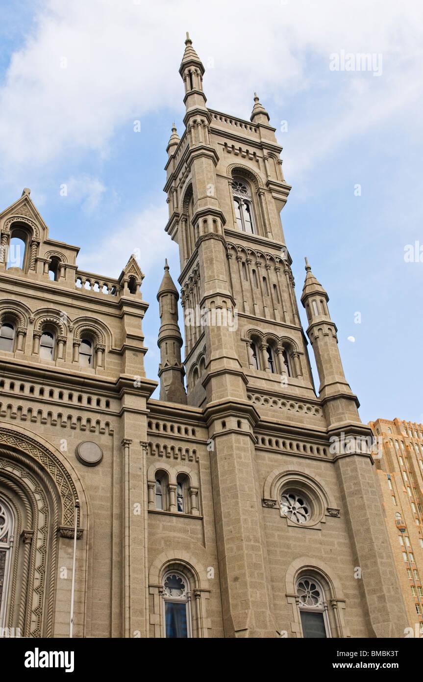 Philadelphia's Masonic Temple, Freemasons - Stock Image