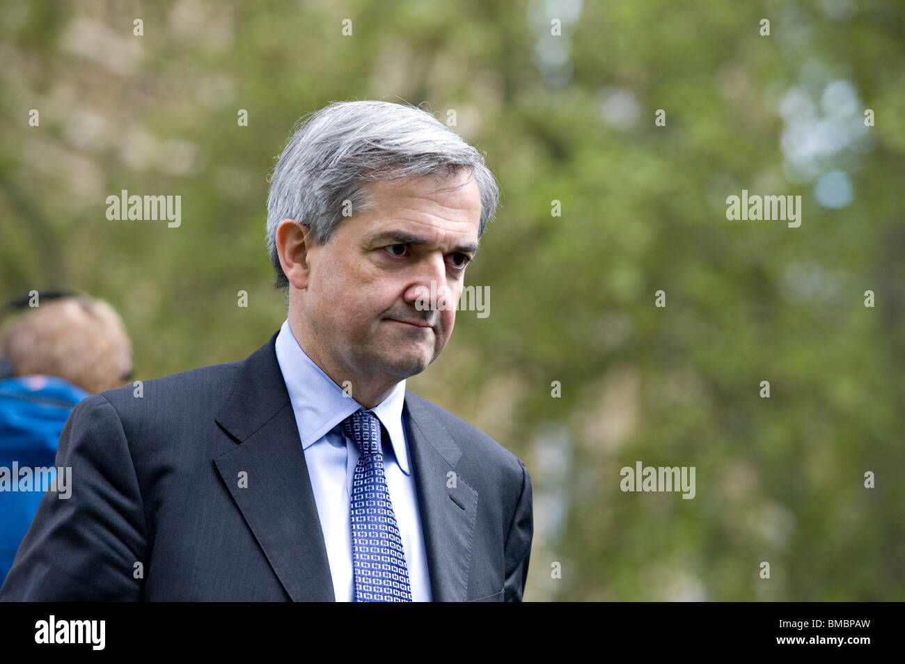 Chris Huhne Liberal Democrat Member of Parliament for Eastleigh, UK (2010) - Stock Image