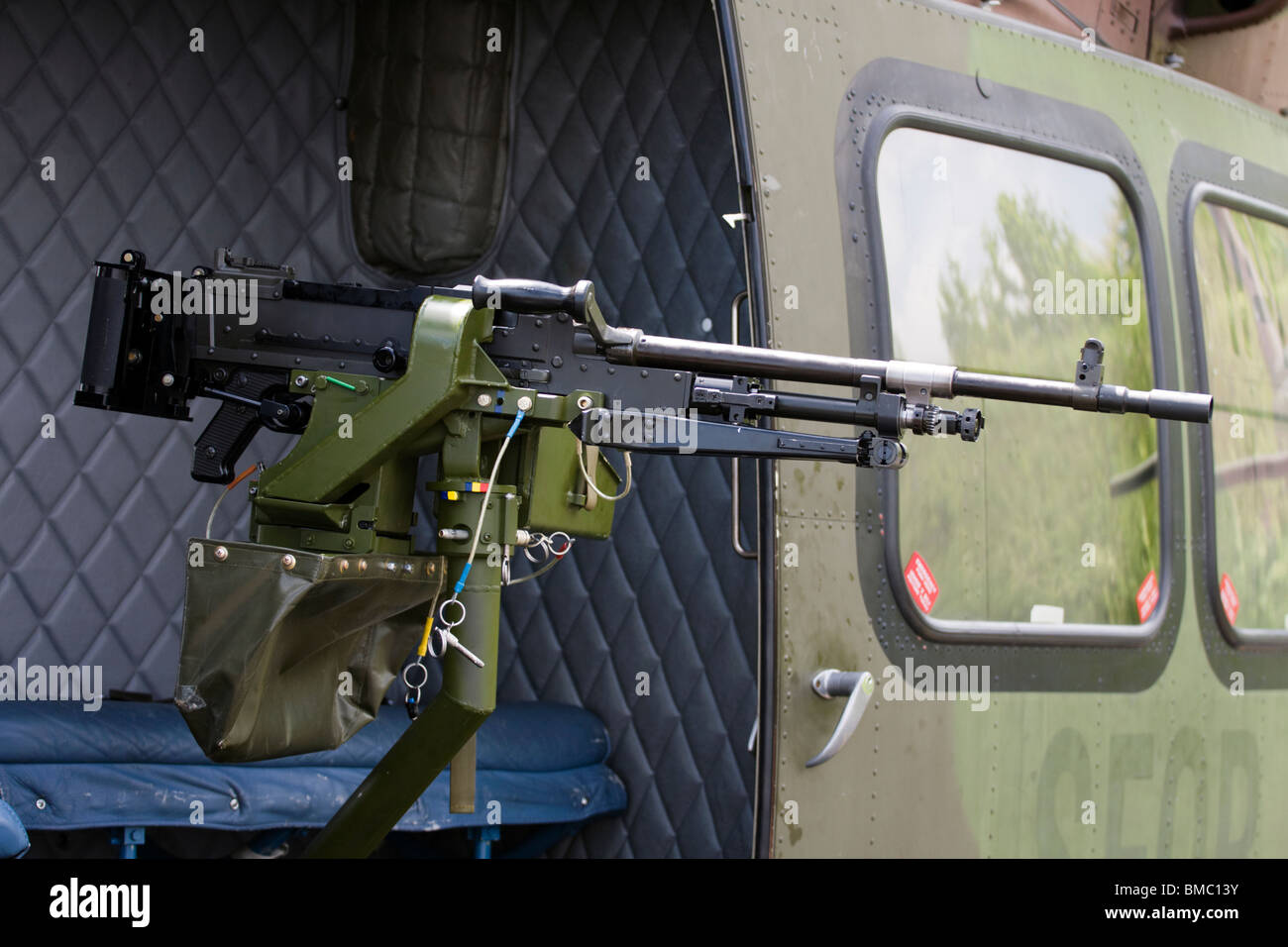Helicopter With Machine Gun Stock Photos Amp Helicopter With