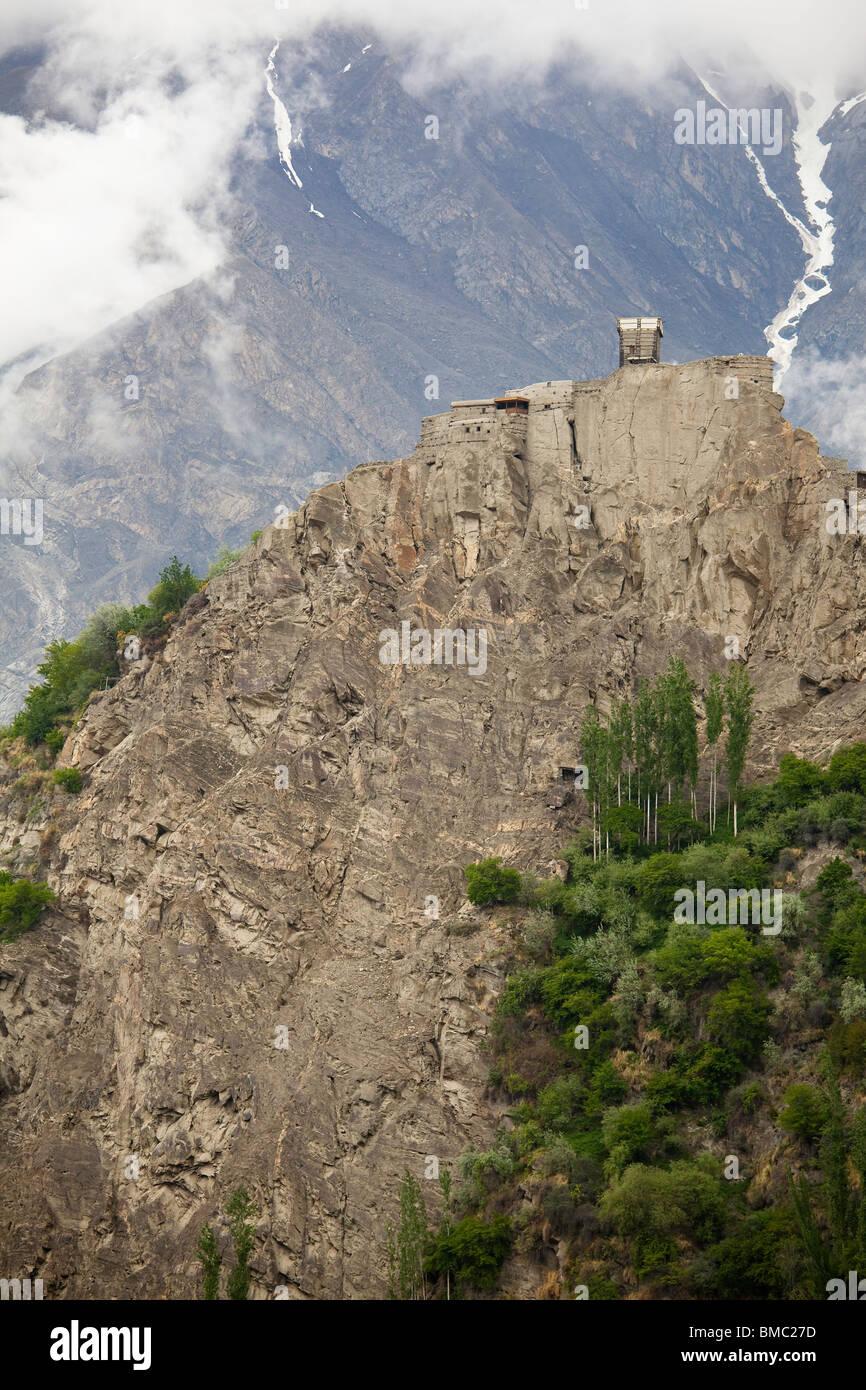 Altit Fort, Hunza Valley, Pakistan - Stock Image