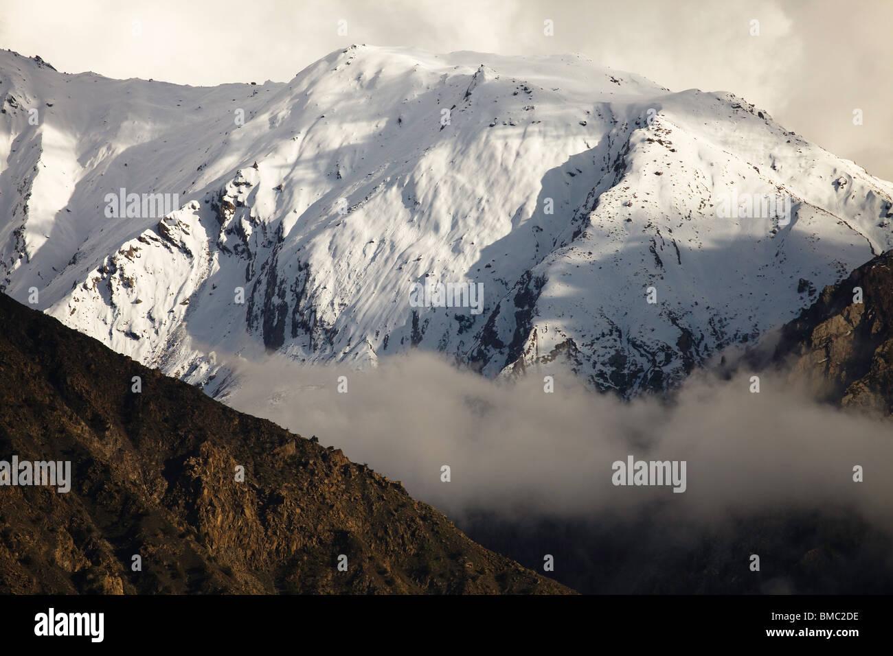 Hindu Kush Scenery along the Karakoram Highway, Pakistan - Stock Image