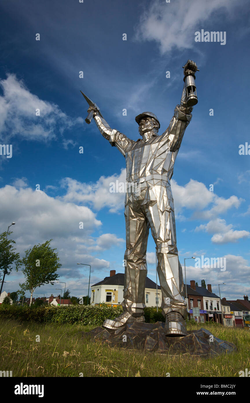 The Brownhills Miner Brownhills Walsall West Midlands England UK - Stock Image