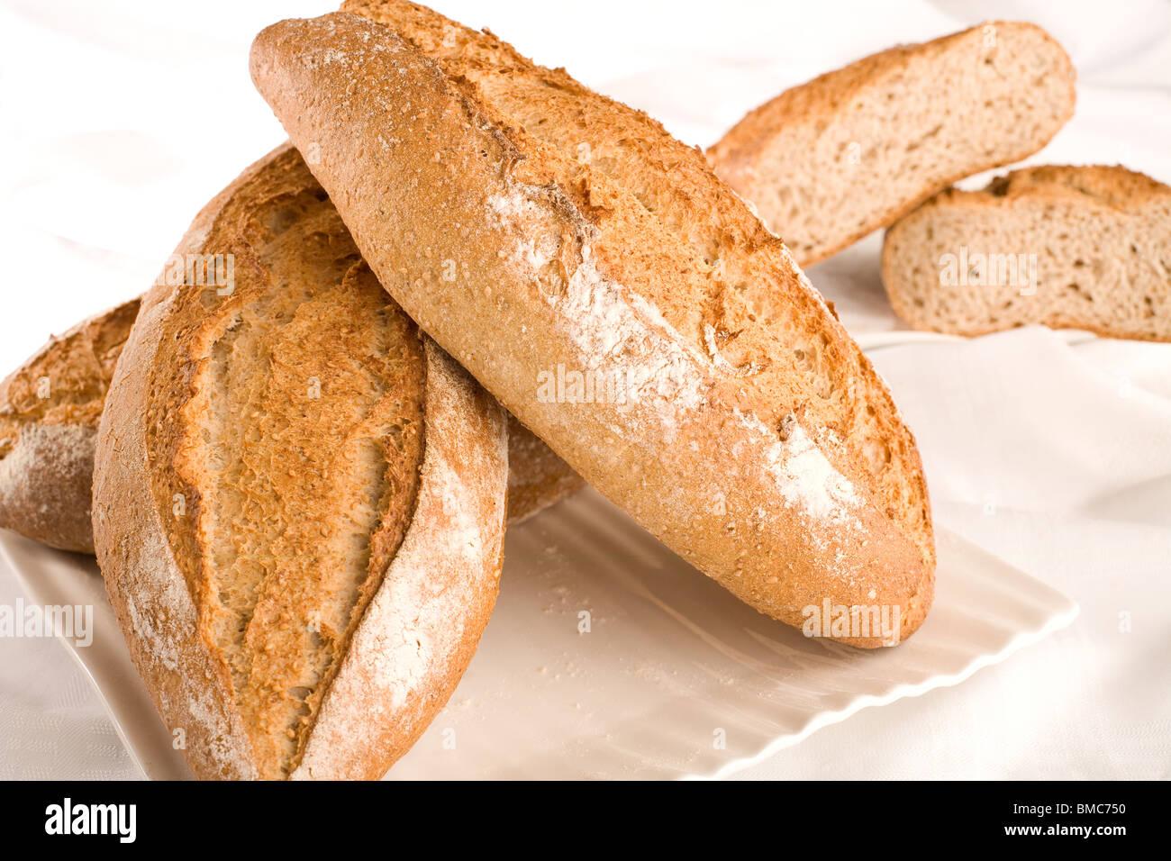Breads Still Life - Stock Image