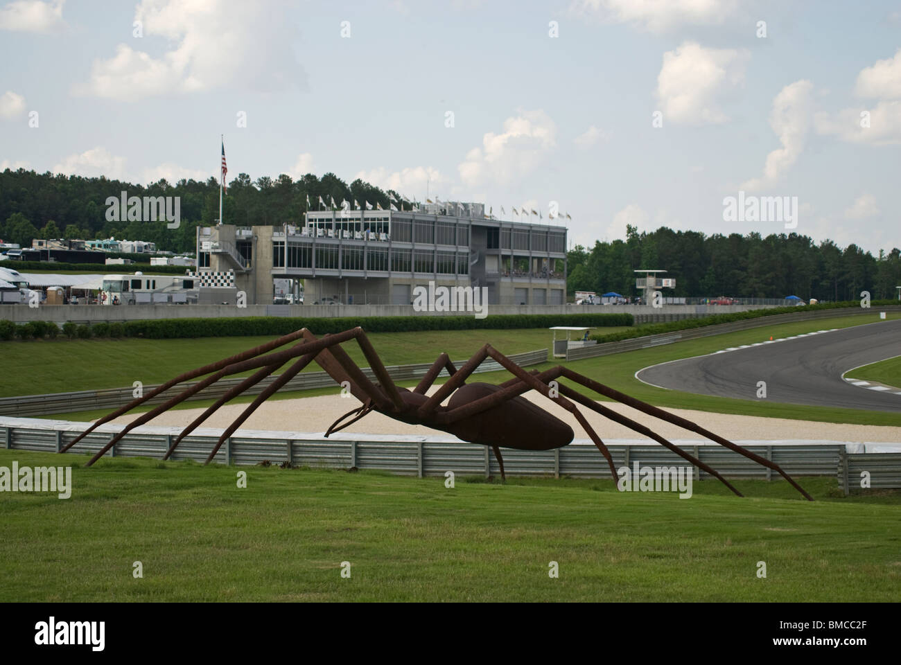 Barber Motorsports Park >> The Spider And The Infield At Barber Motorsports Park Near Stock
