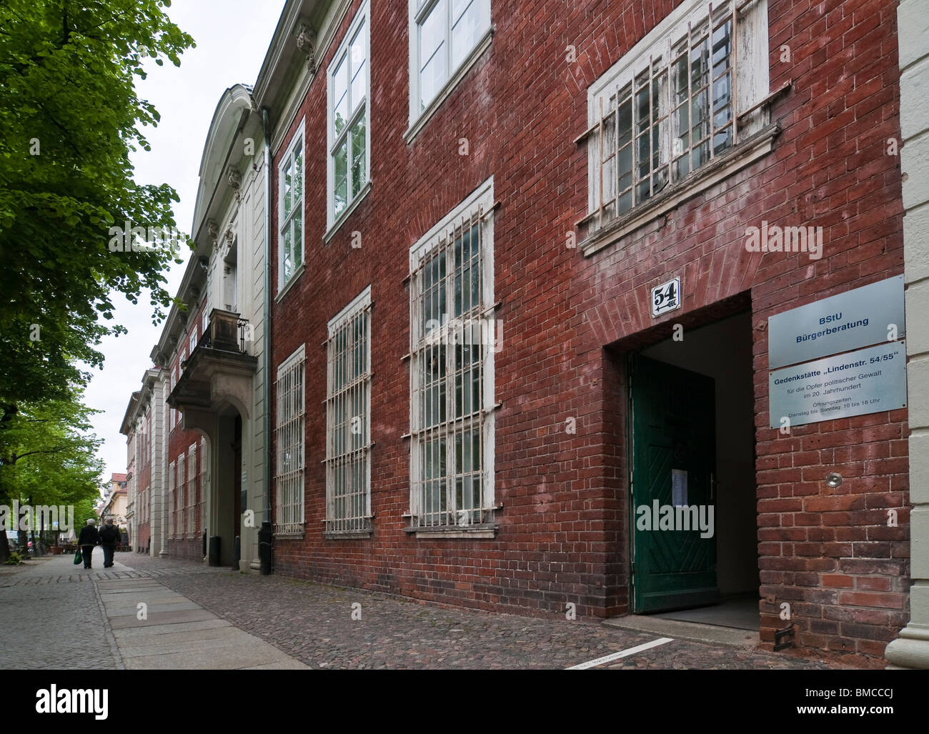 Exterior, Former prison of the state security service of the GDR, Potsdam, Brandenburg - Stock Image