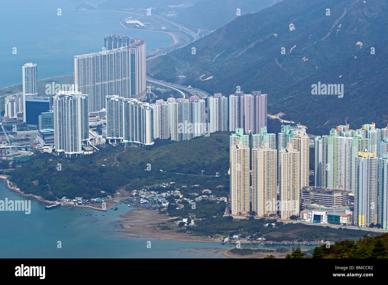 Tung Chung, Lantau Island, Hong Kong, SAR of China - Stock Image