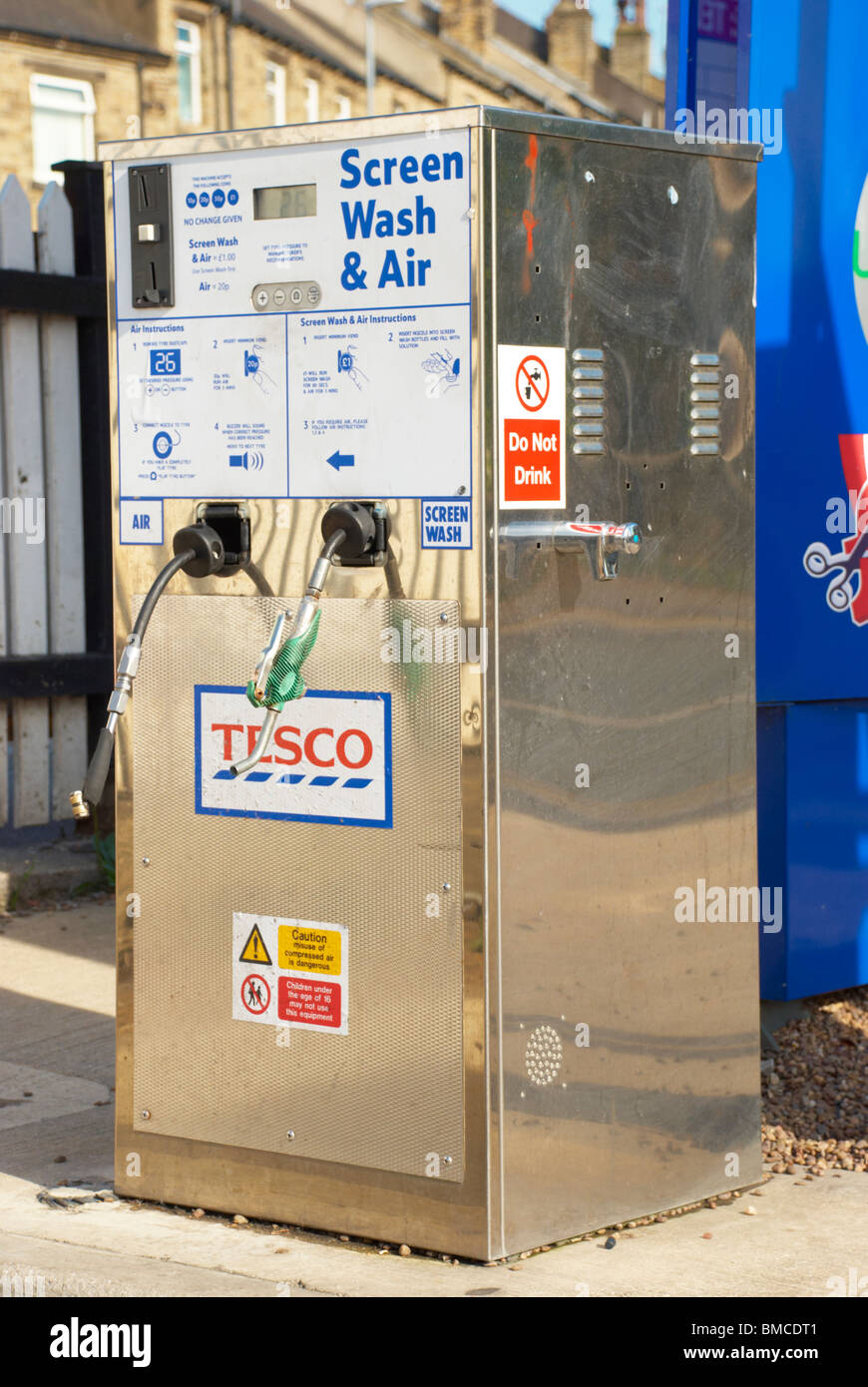 Petrol Station Air Pump High Resolution Stock Photography And Images Alamy