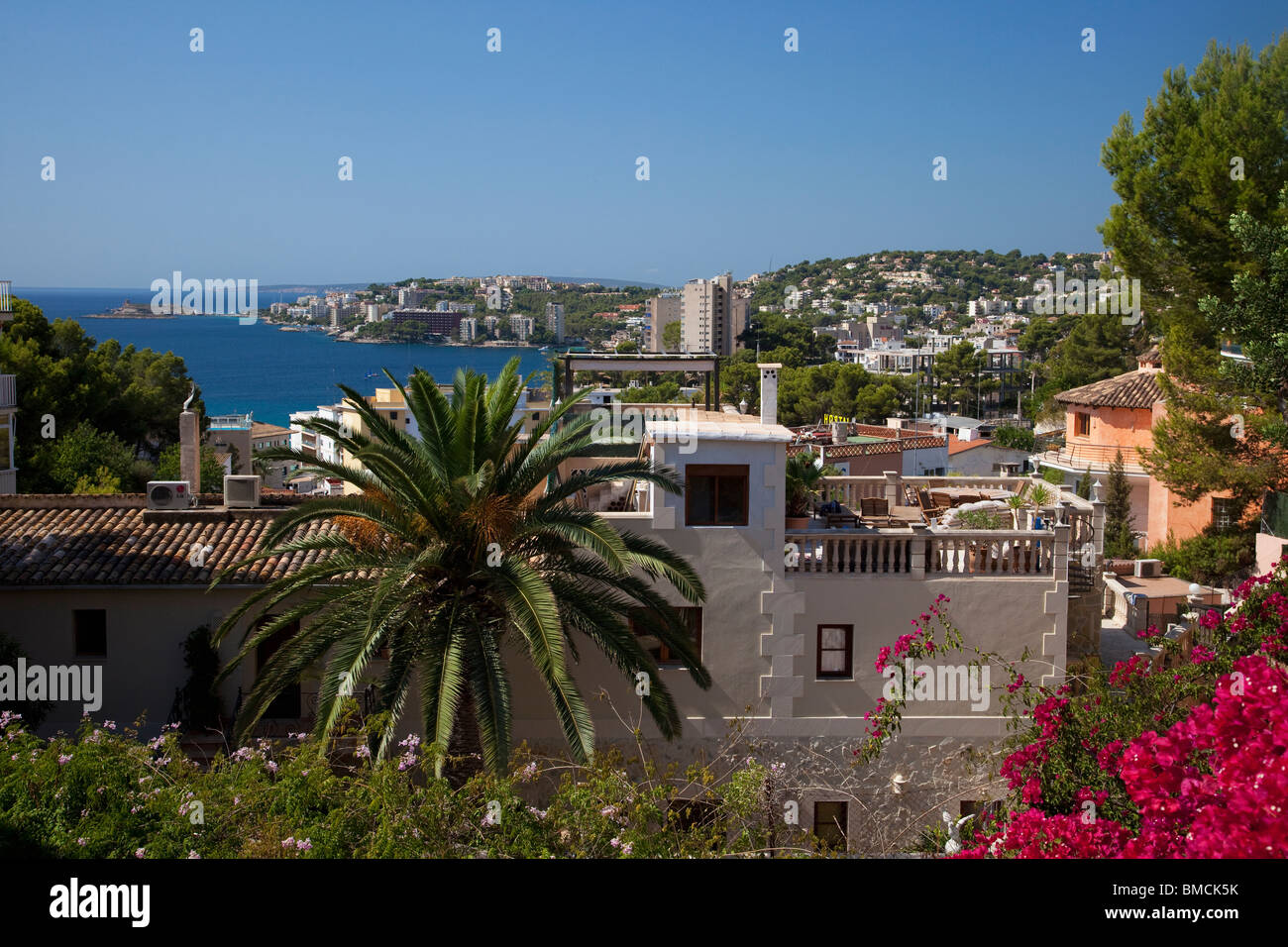 Cala Major Majorca Mallorca Spain Europe EU - Stock Image