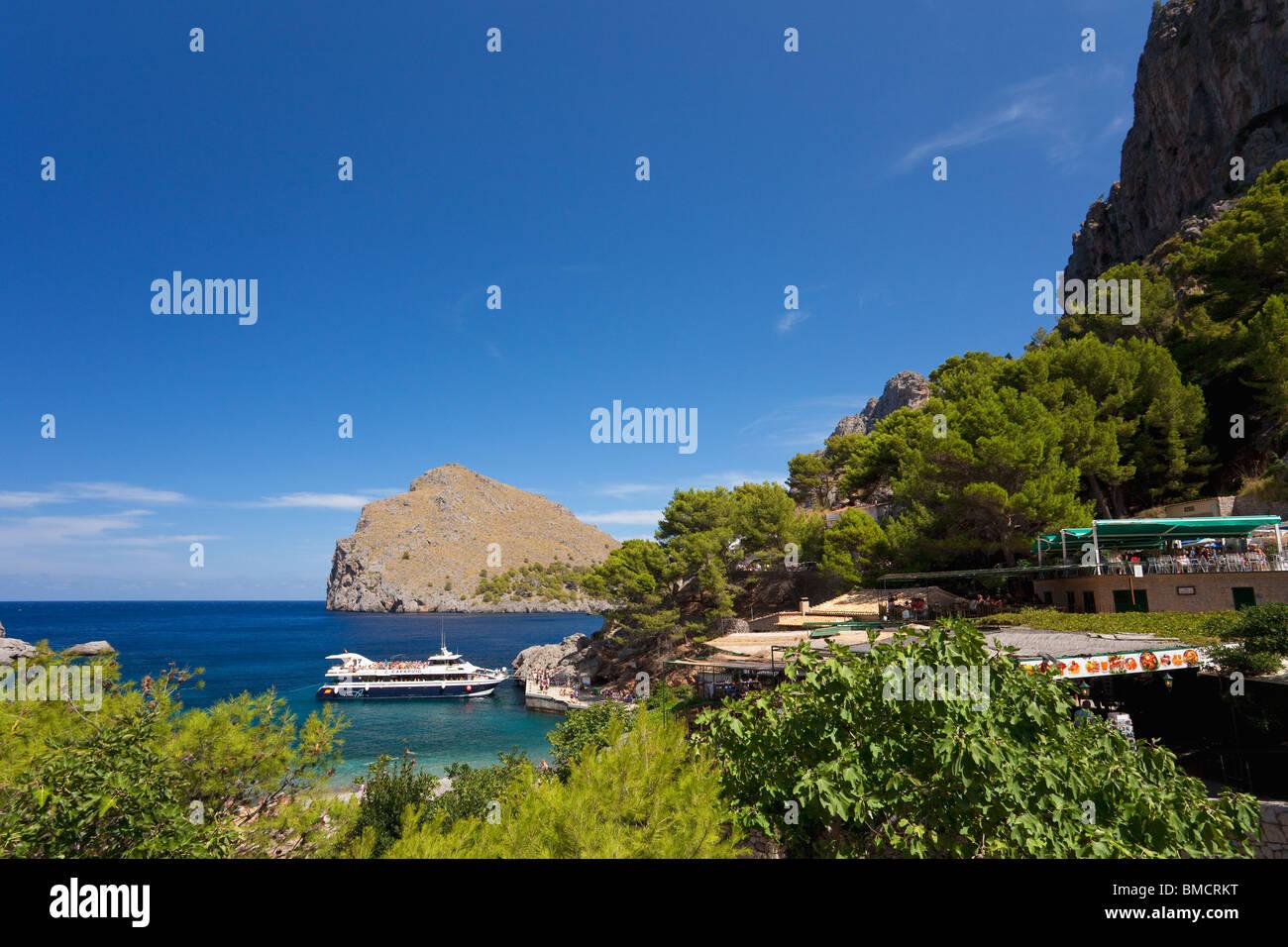 Sa Calobra in northern Majorca Mallorca Spain Europe EU - Stock Image