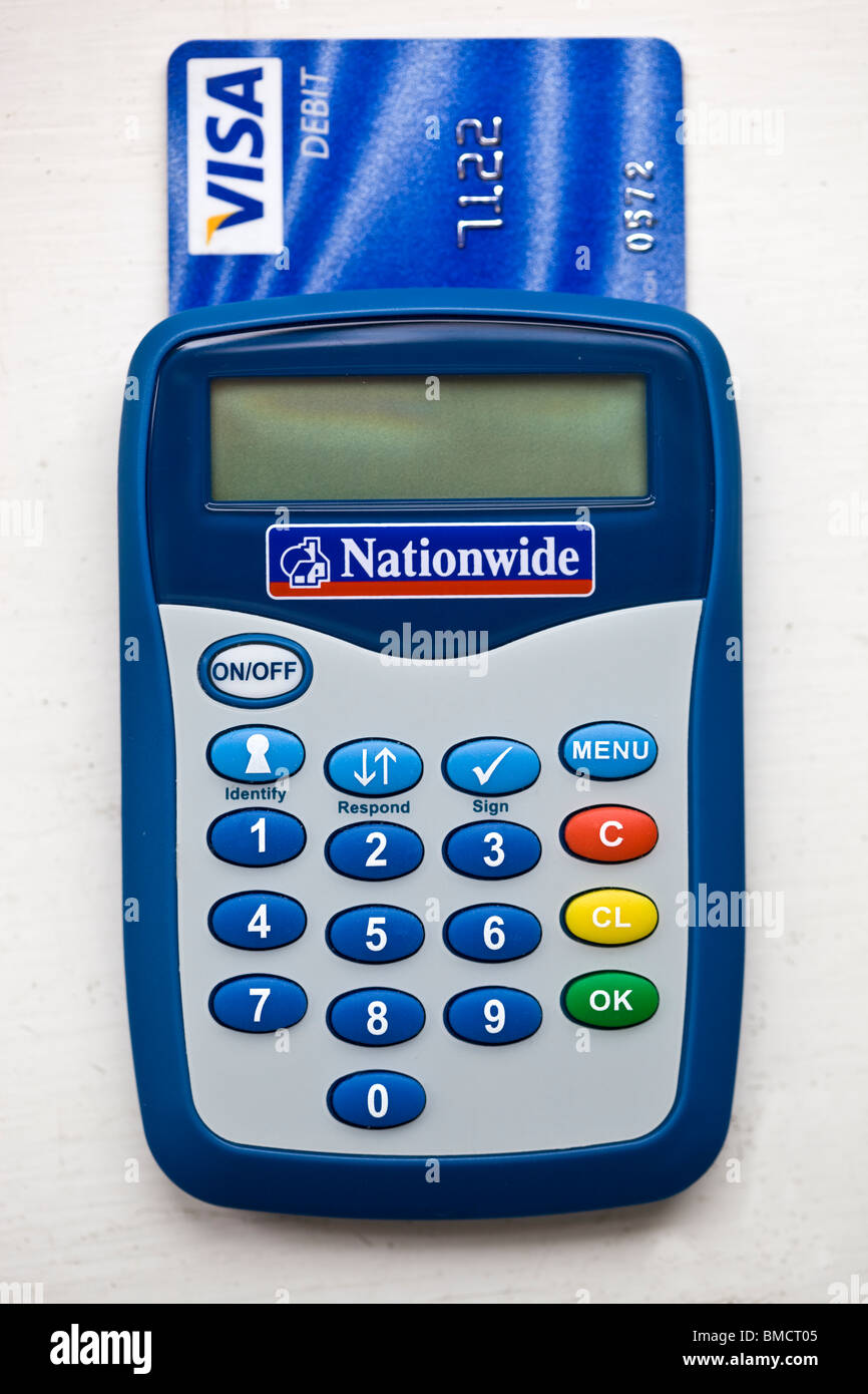 Nationwide Bank Card Personal Security Device Stock Photo: 29785733