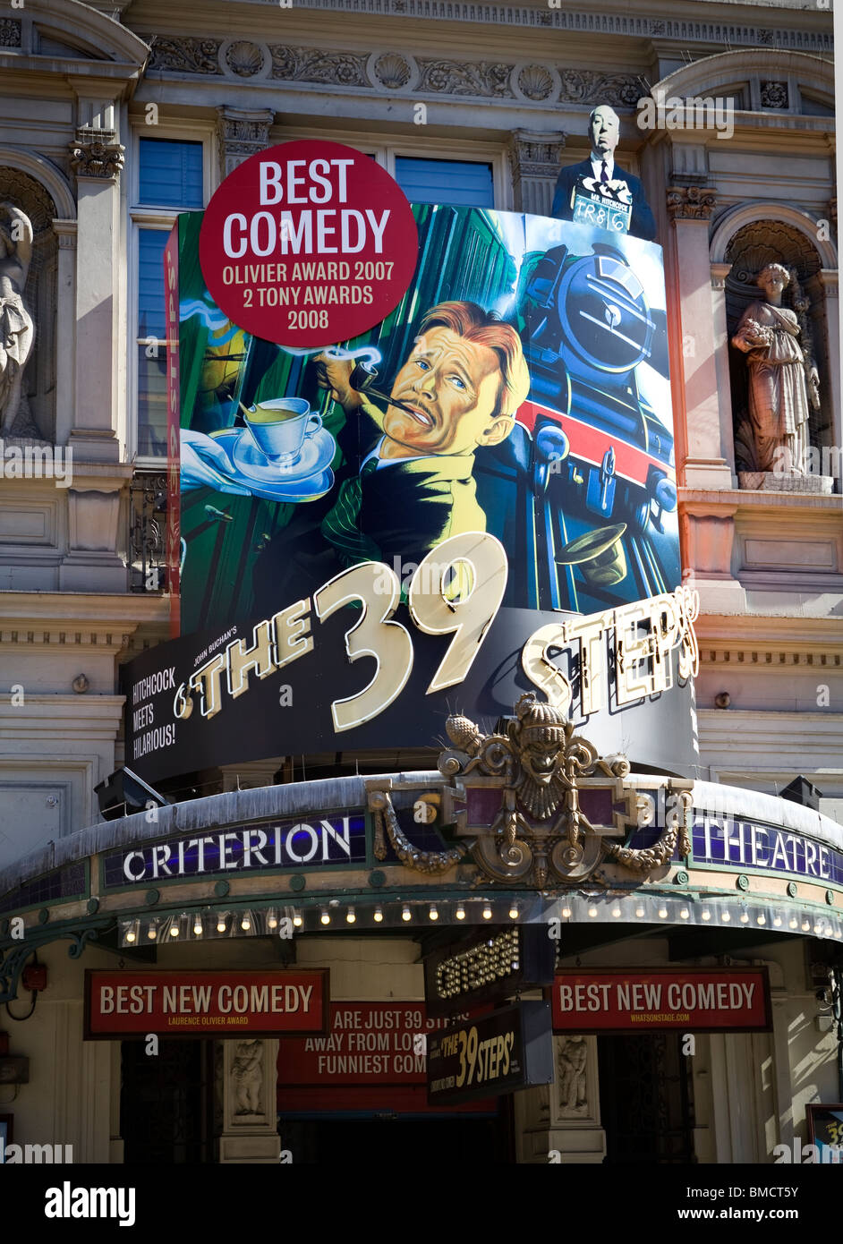 The 39 Steps Criterion Theatre Piccadilly Circus - Stock Image