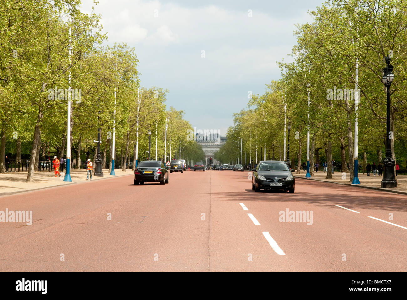 The Mall, London - Stock Image