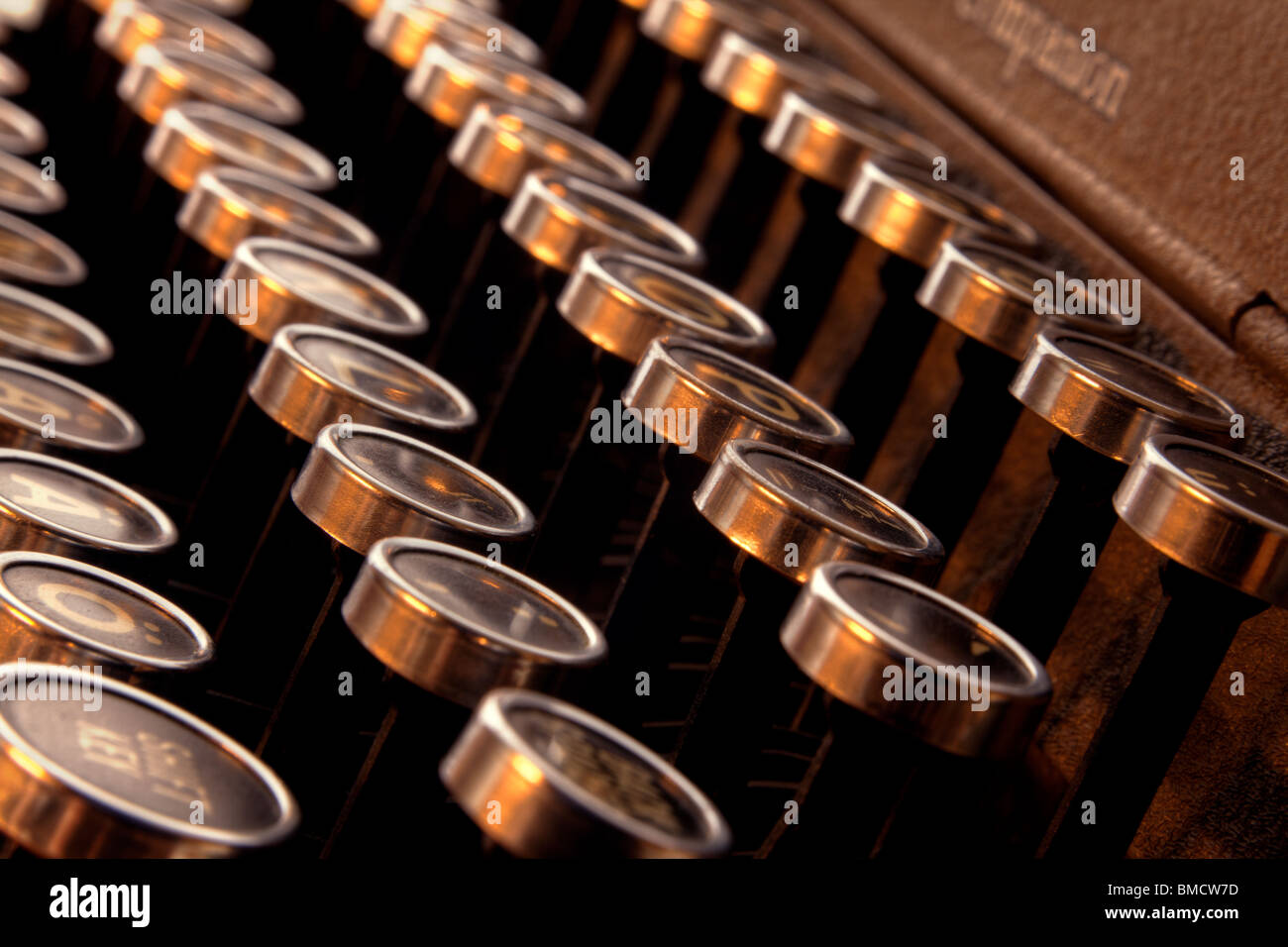 Typewriter keys - Stock Image