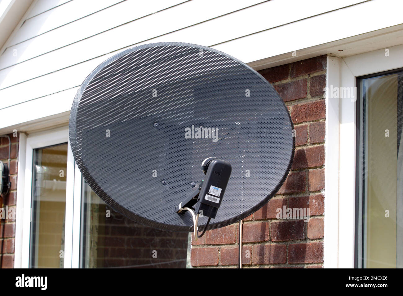 Sky satellite dish - Stock Image
