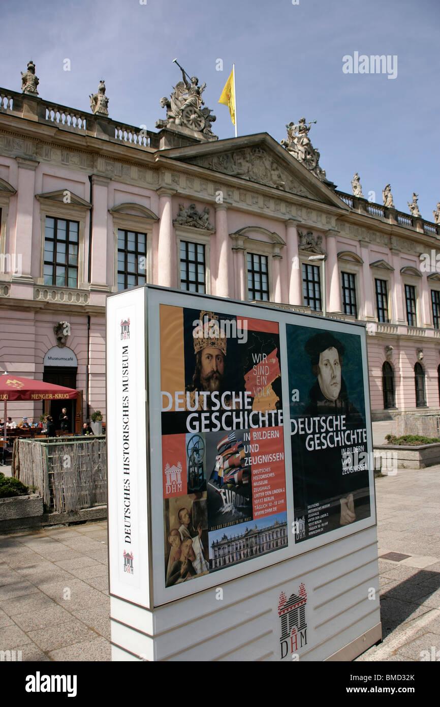 Deutsches Historisches Museum, Berlin, Germany - Stock Image