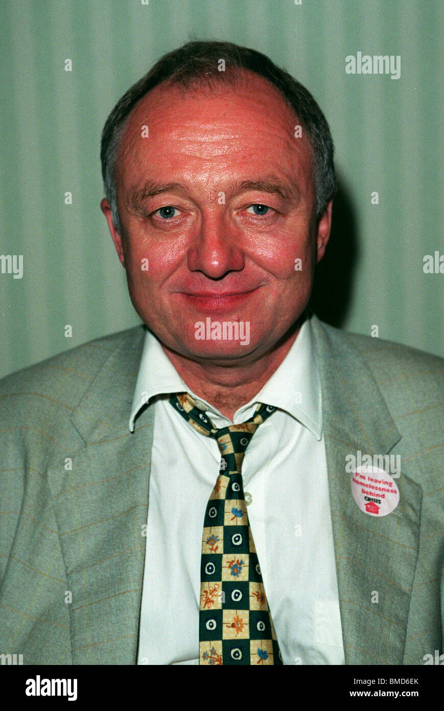 KEN LIVINGSTONE MP LABOUR PARTY 24 October 1999 - Stock Image
