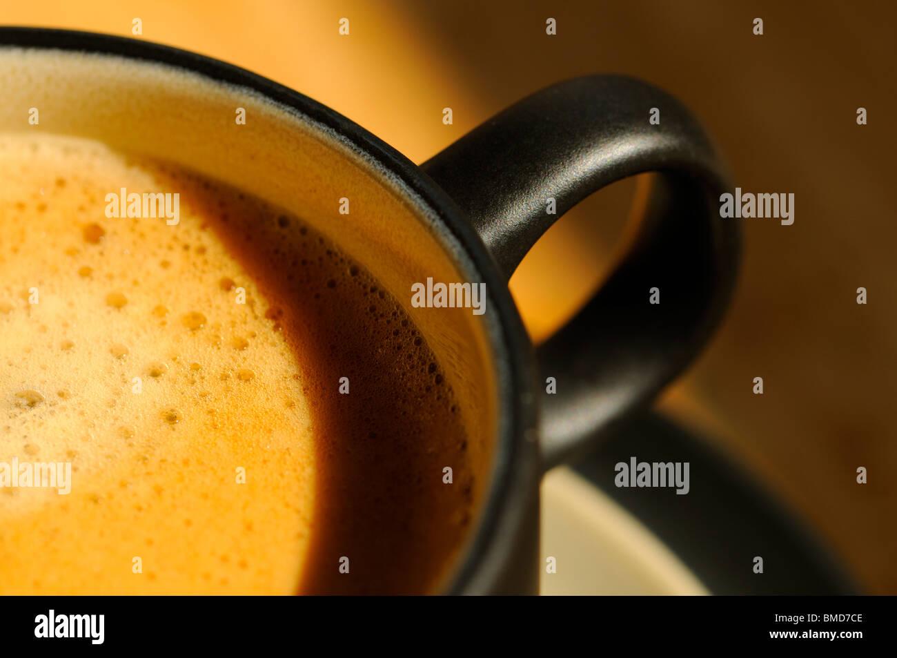 Espresso Coffee - Stock Image